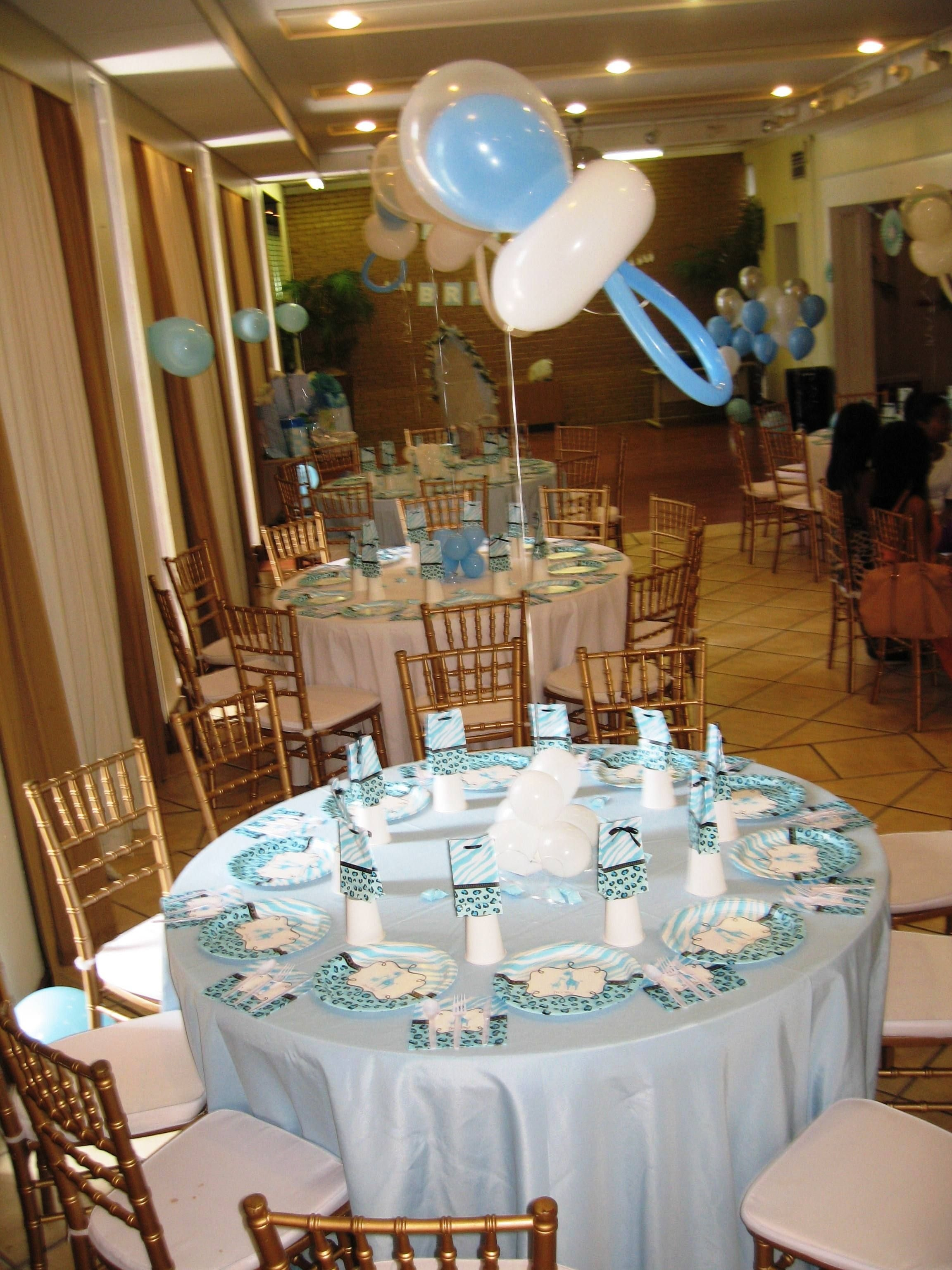 10 Attractive Decorating Ideas For Baby Shower baby shower table decor centerpieces table decor pinterest 3