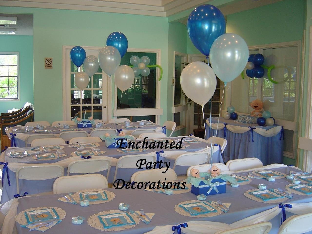 10 Elegant Baby Shower Decoration Ideas For Boys baby shower table decorations ideas omega center ideas for baby 3