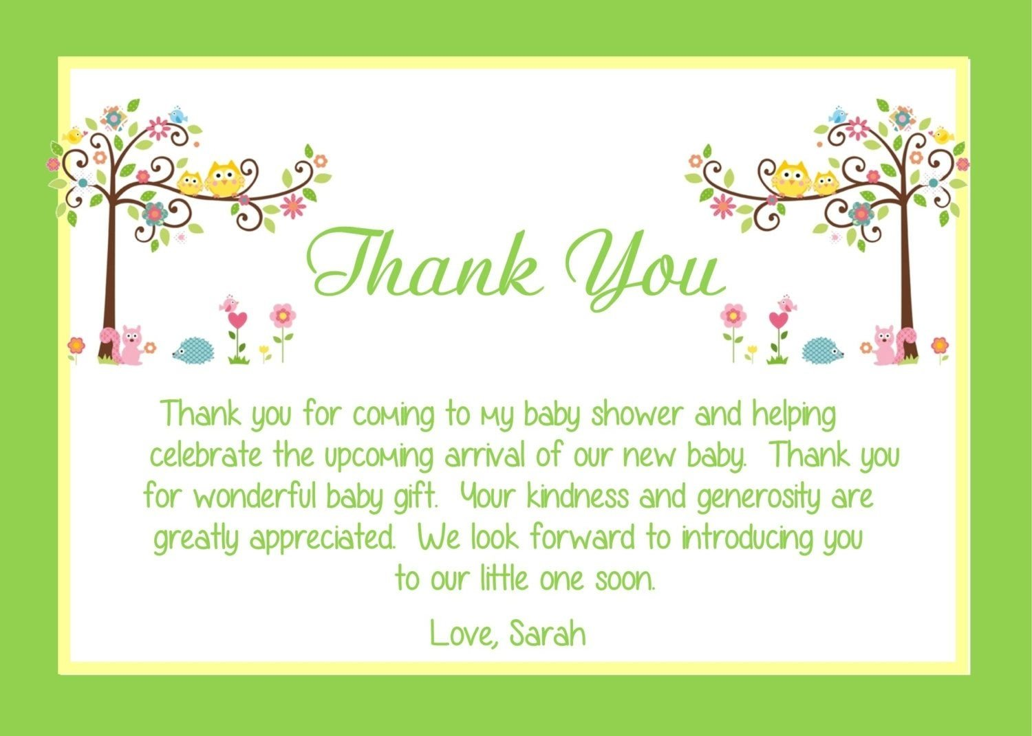 baby-shower-thank-you-card-wording-ideas - babysof | thank you