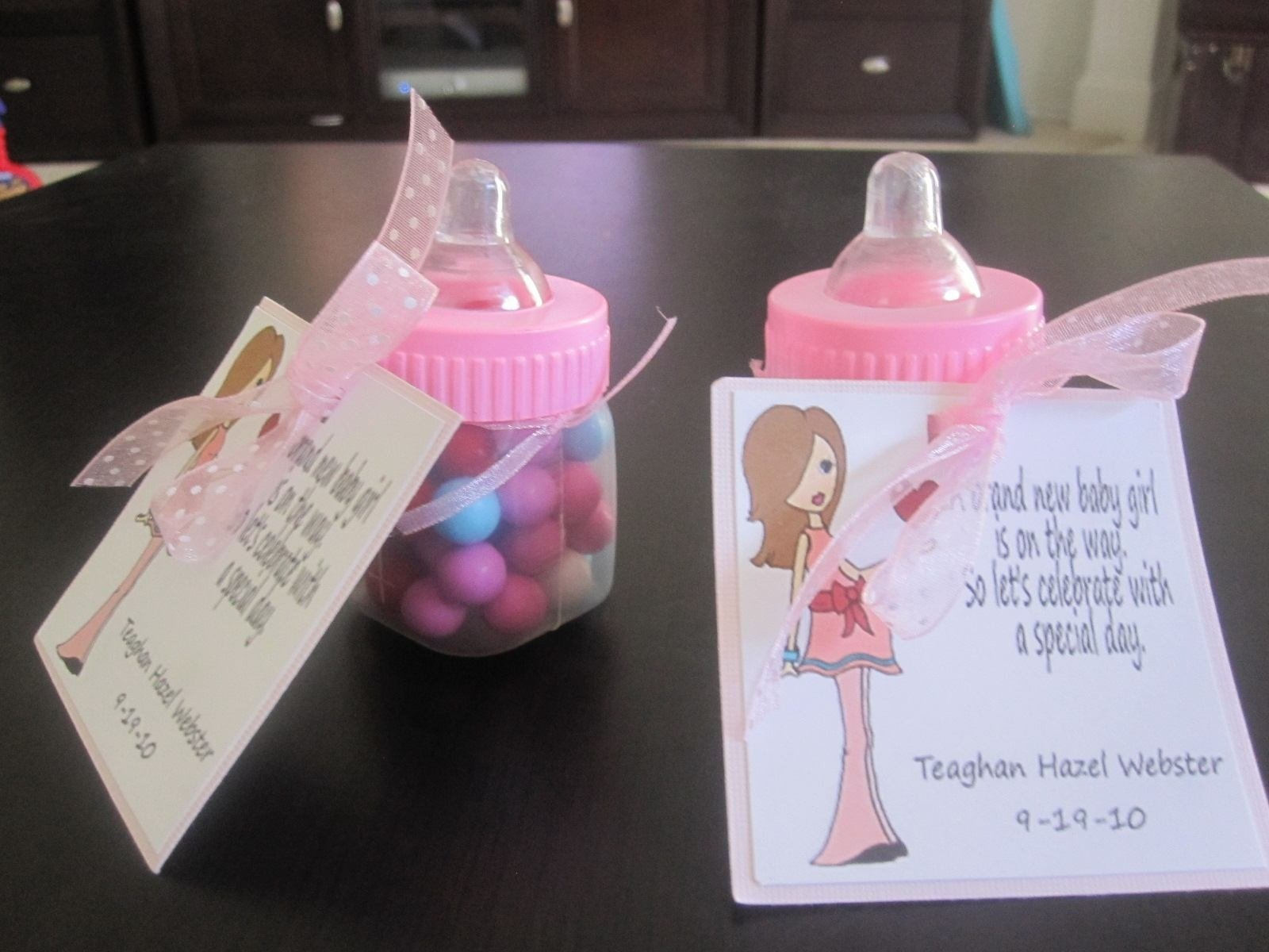 baby shower thank you gifts south africa group gift wording diy bags