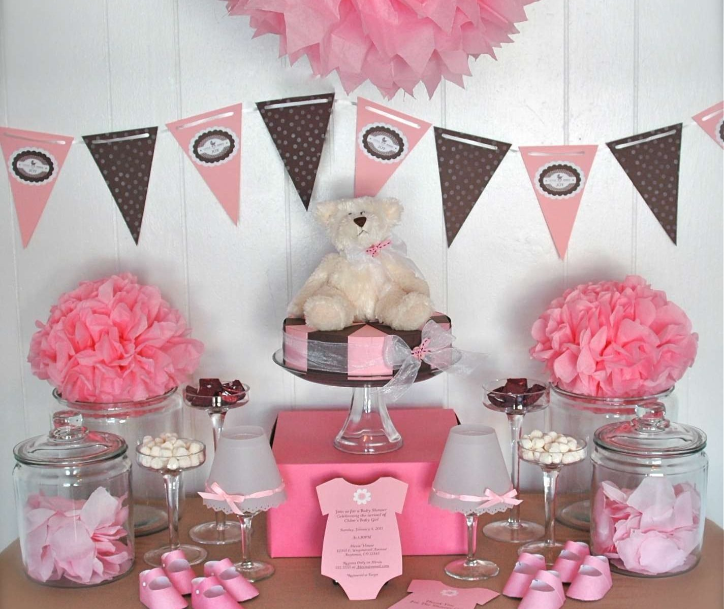 10 Gorgeous Girl Baby Shower Theme Ideas baby shower theme for girl favors ideas twin supplies stirring 2020