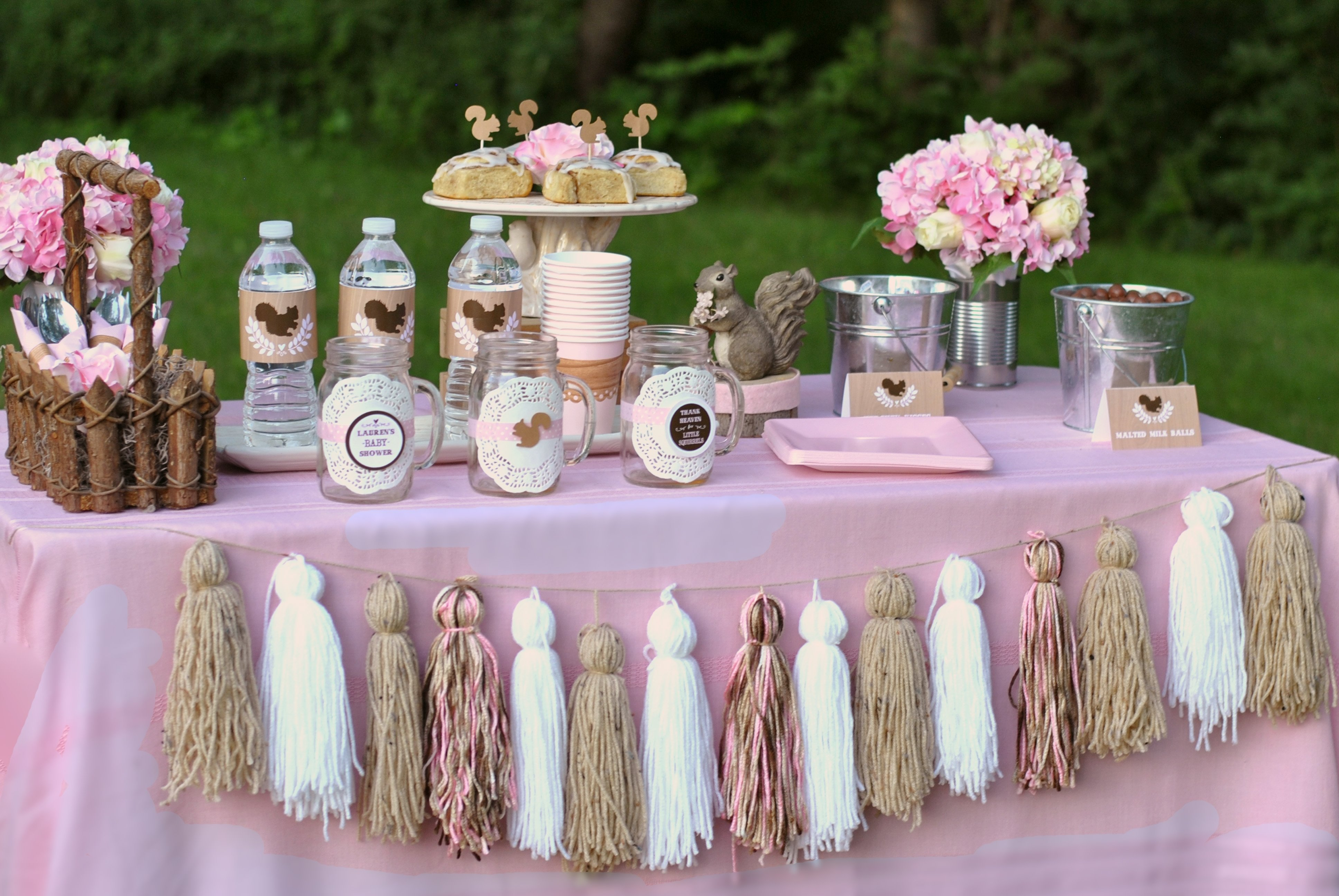 10 Unique Baby Shower Girl Decoration Ideas baby shower theme ideas for girl omega center ideas for baby 4 2021