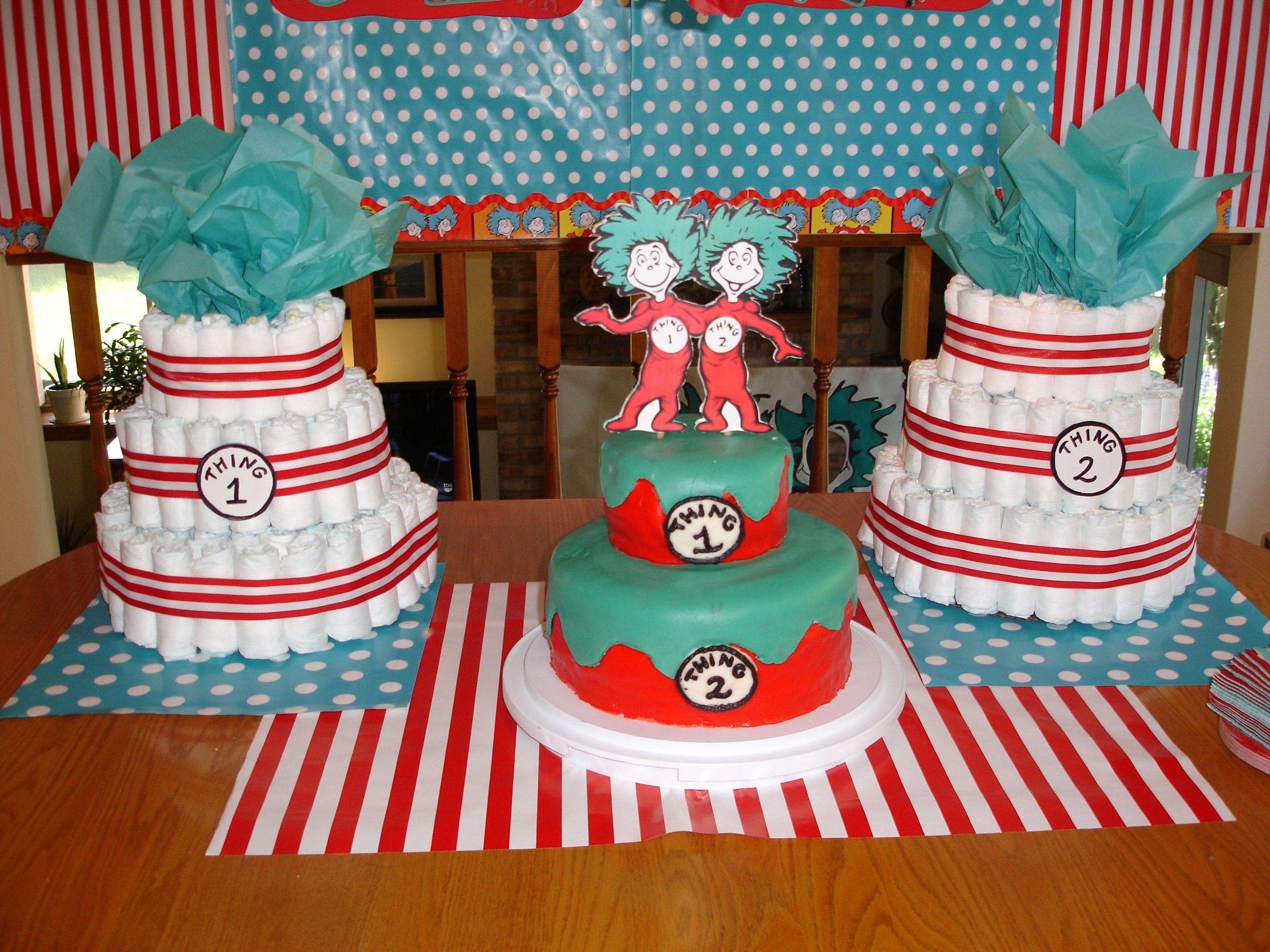 10 Fantastic Thing 1 And Thing 2 Baby Shower Ideas baby shower thing 1 and thing 2 baby shower greeks n sweets thing 2021