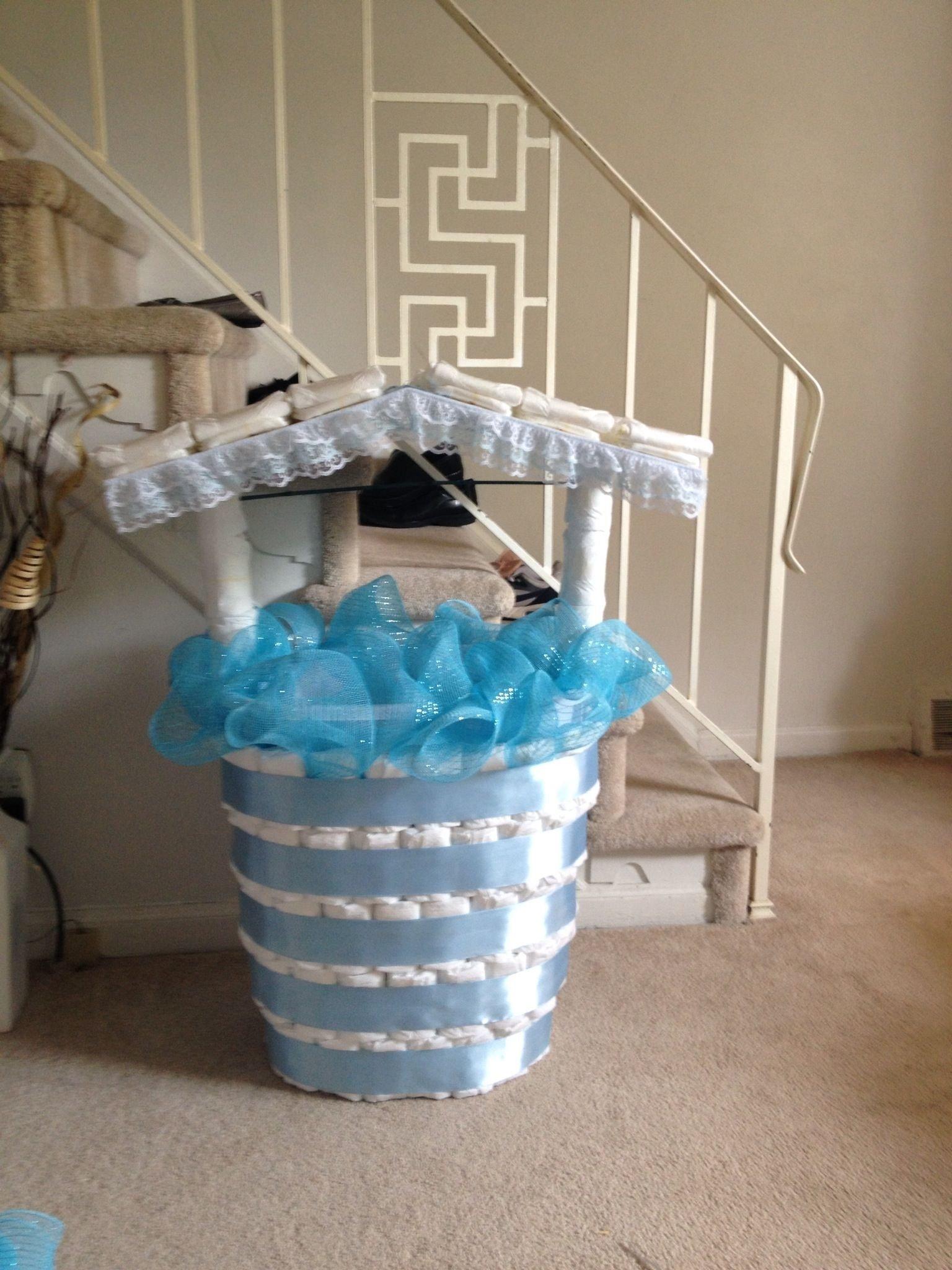 10 fantastic baby shower wishing well ideas