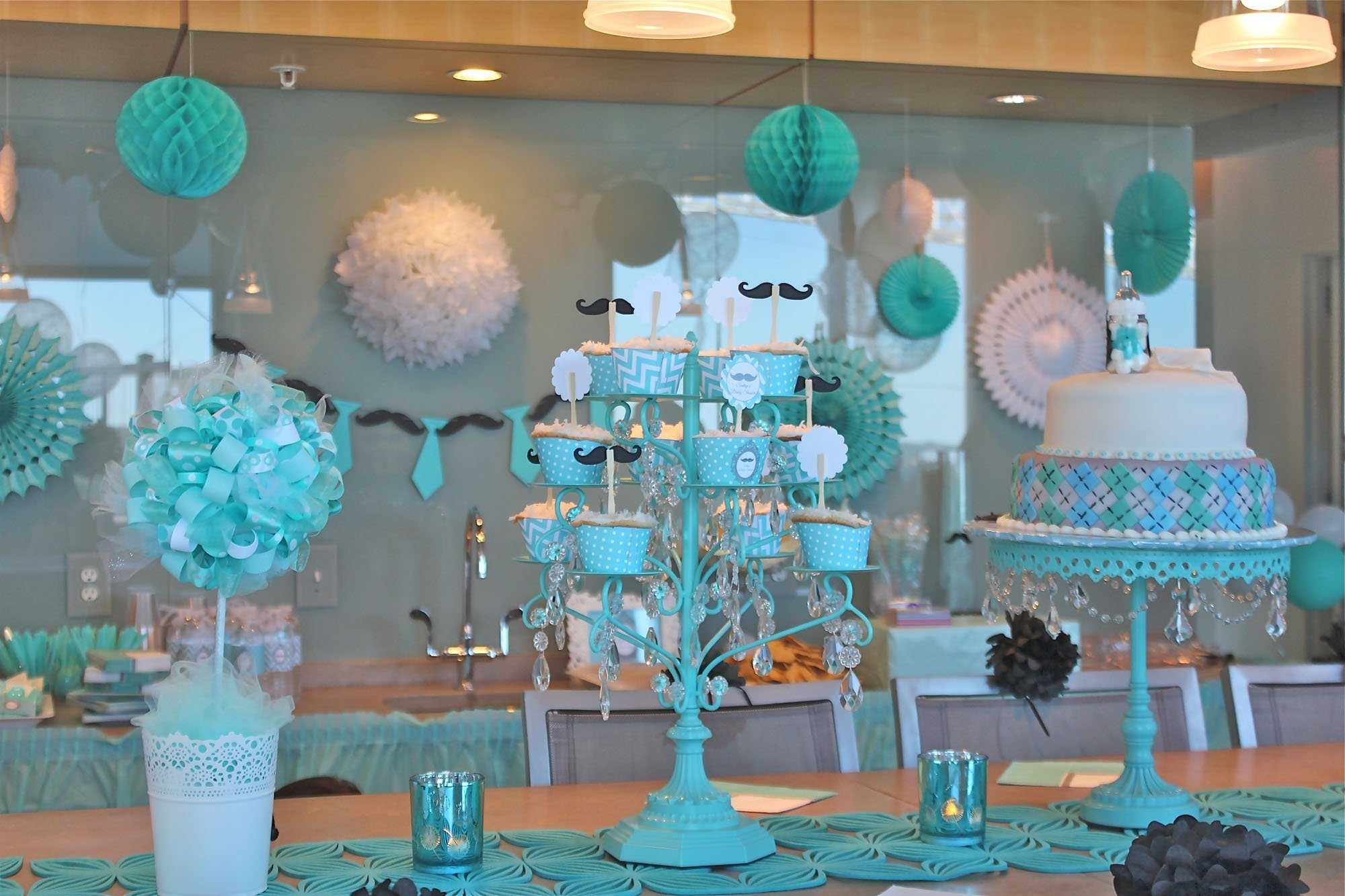 10 Attractive Decorating Ideas For Baby Shower baby showeror ideasoration astounding south africa for boy table 2020