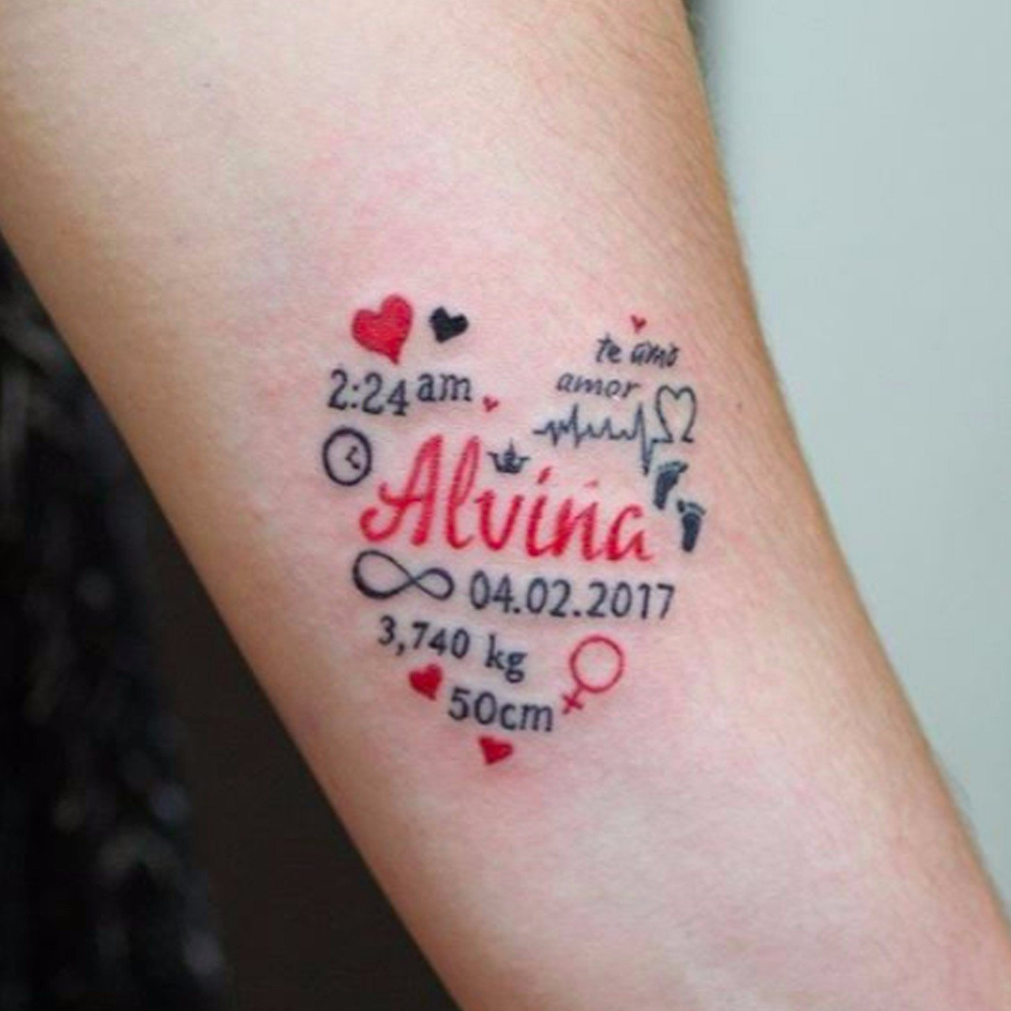 10 Famous Tattoo Ideas For Your Kids baby tattoo ideas popsugar moms