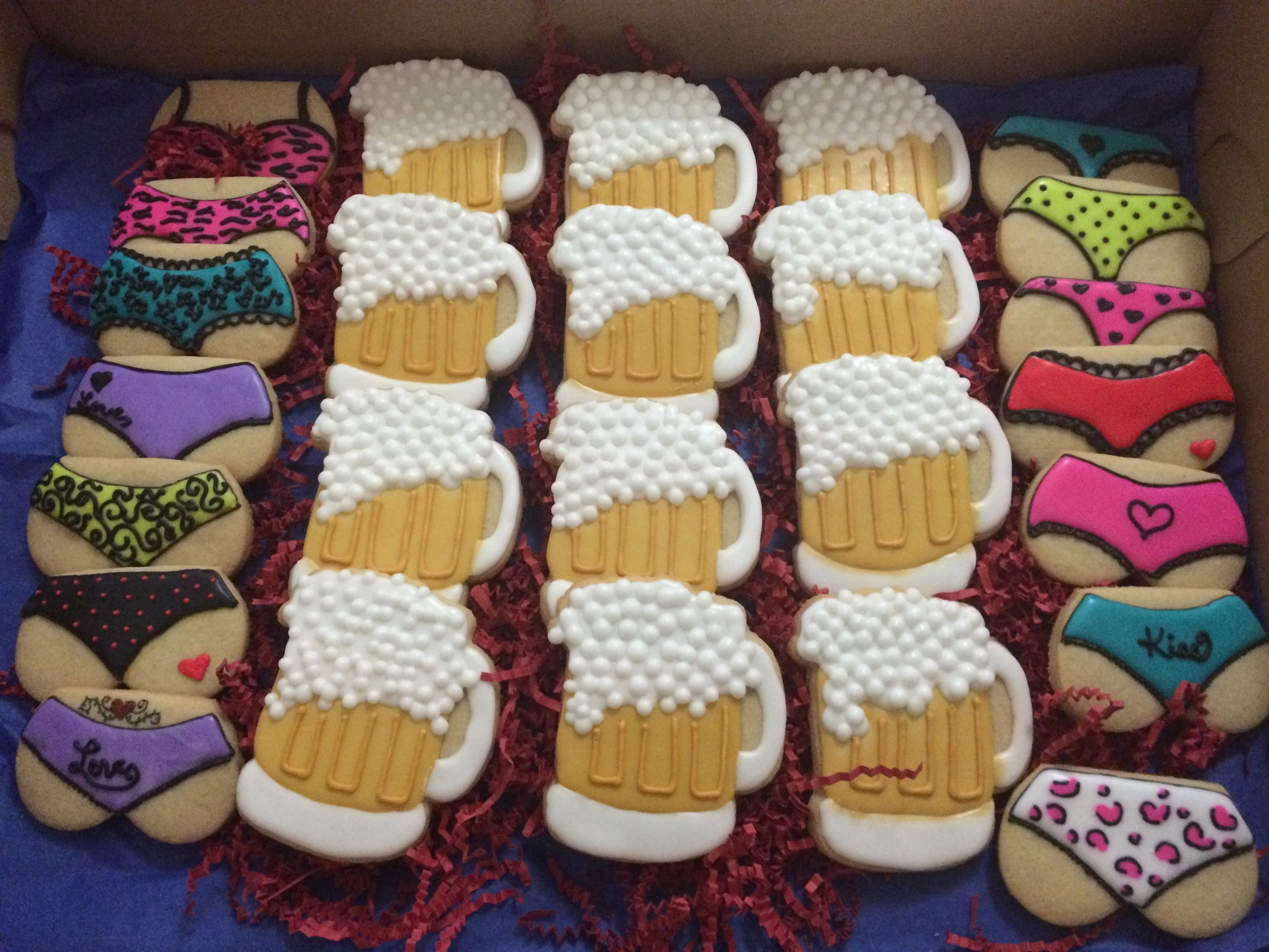 10 Great Combined Bachelor Bachelorette Party Ideas bachelor party cookies cookies pinterest bachelor parties 1 2020