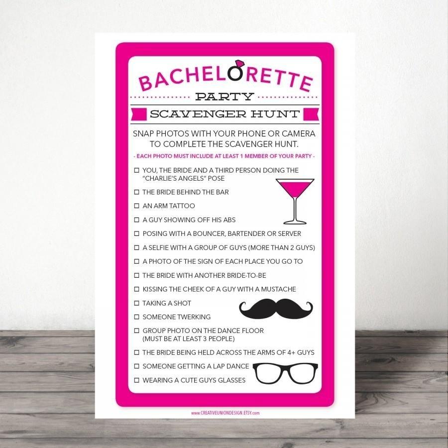10 Ideal Girls Night Out Scavenger Hunt Ideas bachelorette scavenger hunt bachelorette party game bachelorette 2021