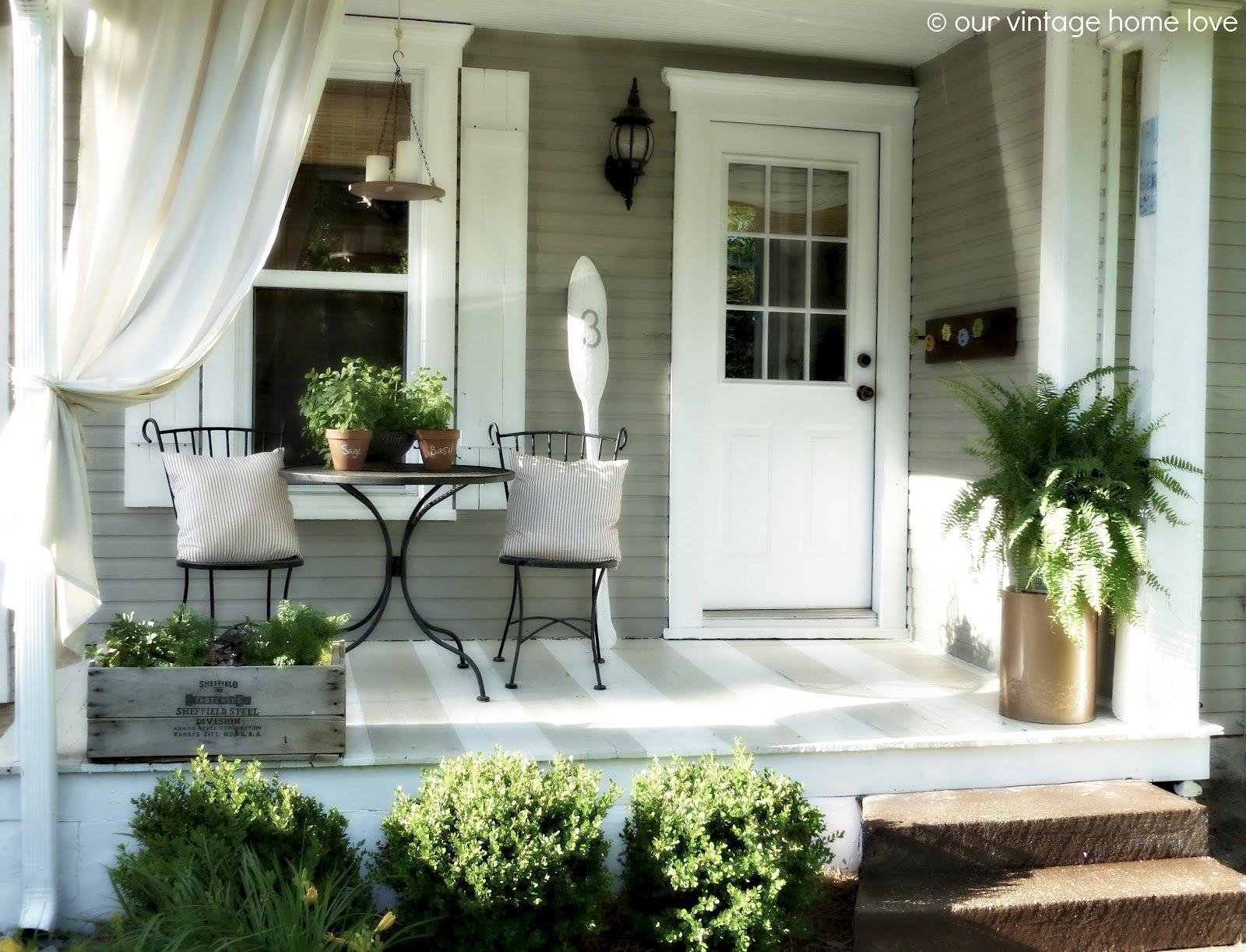 10 Ideal Front Porch Decorating Ideas For Spring back porch ideas that will add value appeal to your home side small 2021