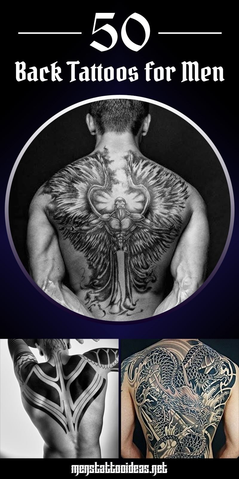 10 Gorgeous Back Tattoo Ideas For Men back tattoos for men ideas and designs for guys 1