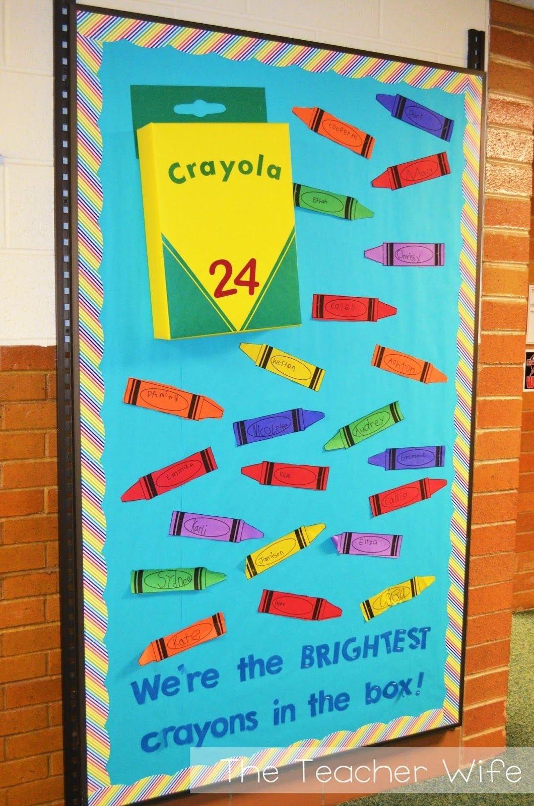 10 Attractive Preschool Back To School Ideas back to school bulletin board idea this link includes a free 2020