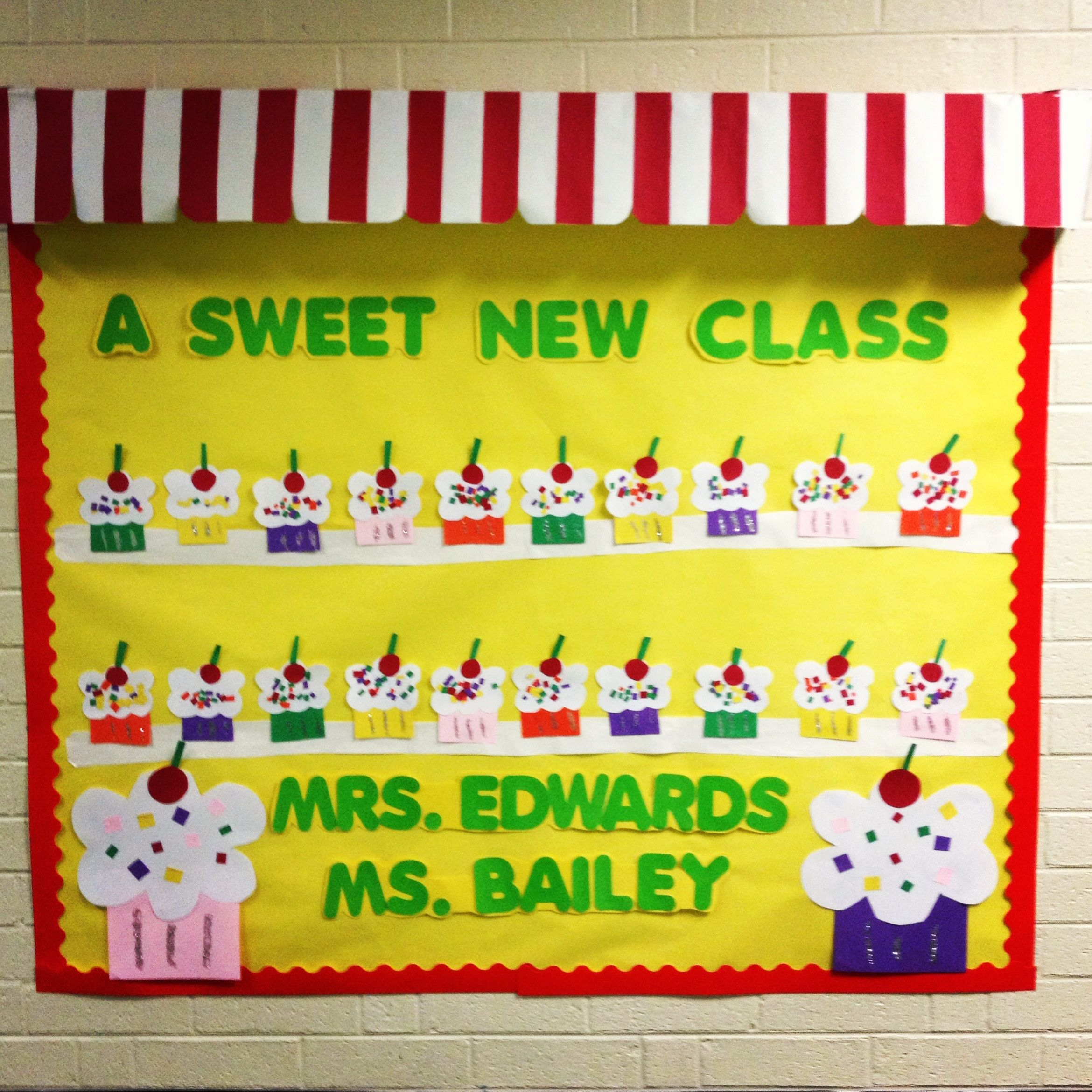 back to school bulletin board. what kindergartener doesn't love