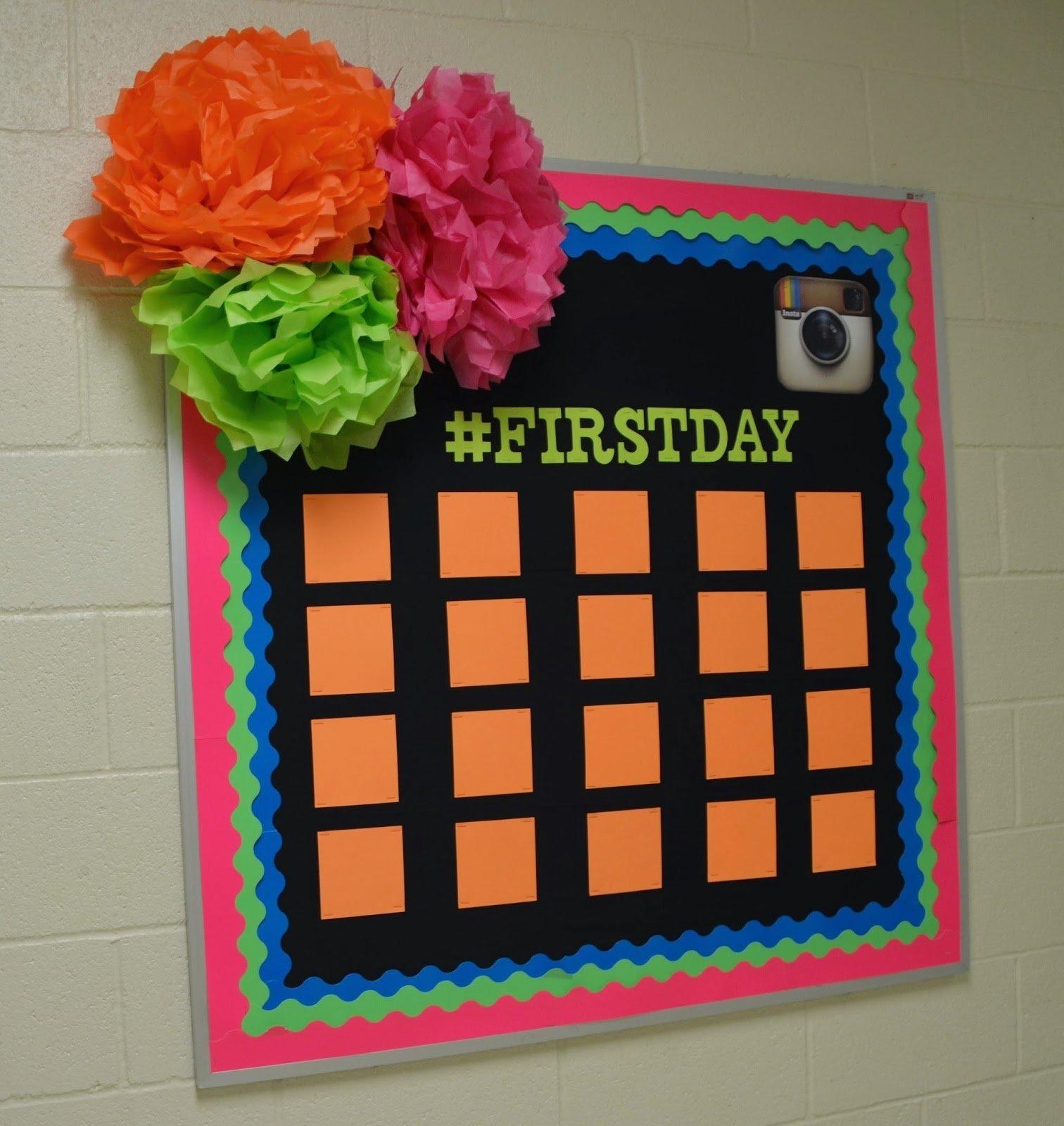 10 Ideal Beginning Of Year Bulletin Board Ideas back to school bulletin boards roommomspot 3