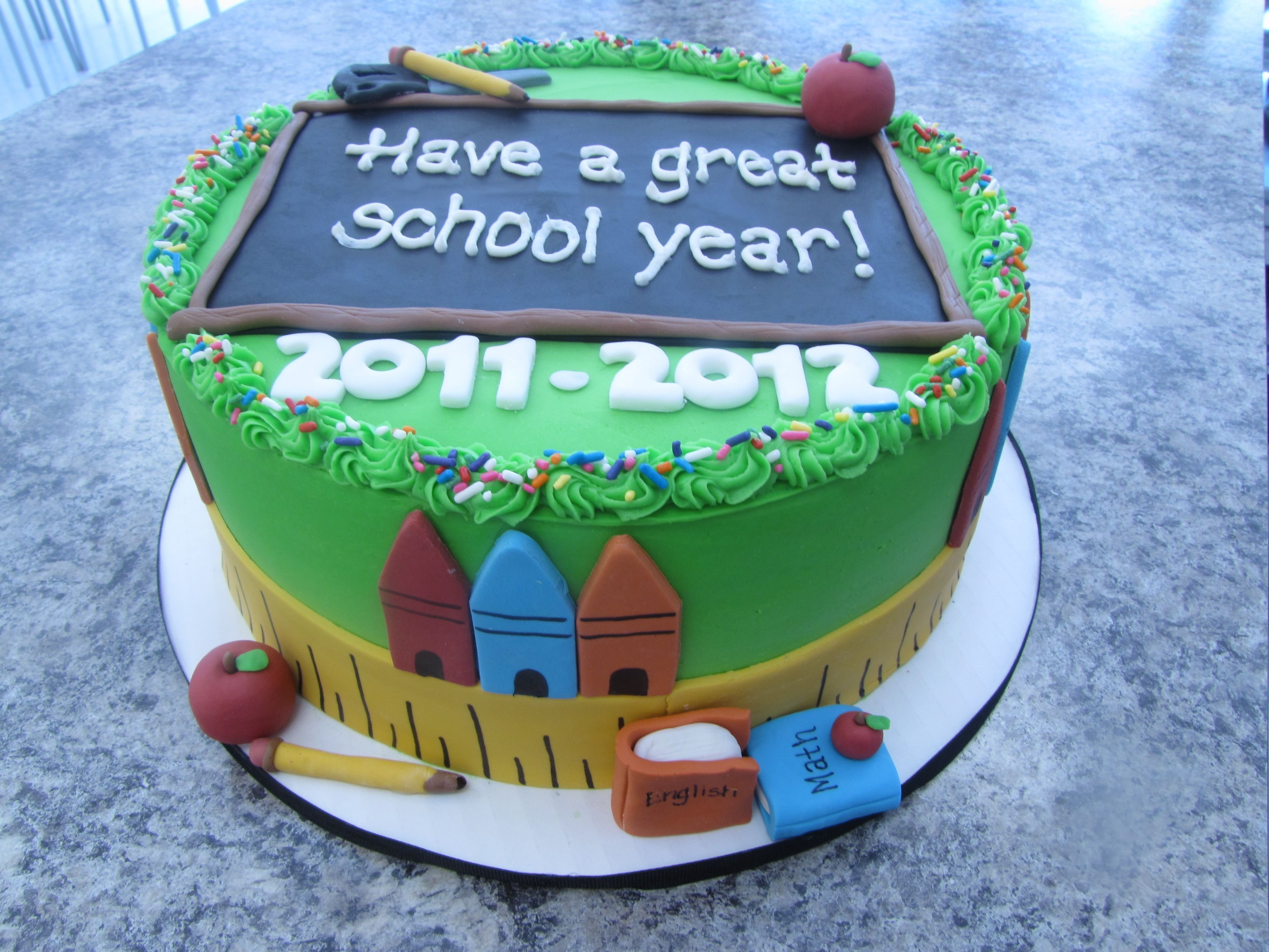 10 Best Back To School Cake Ideas back to school cake cakes and ideas pinterest school cake