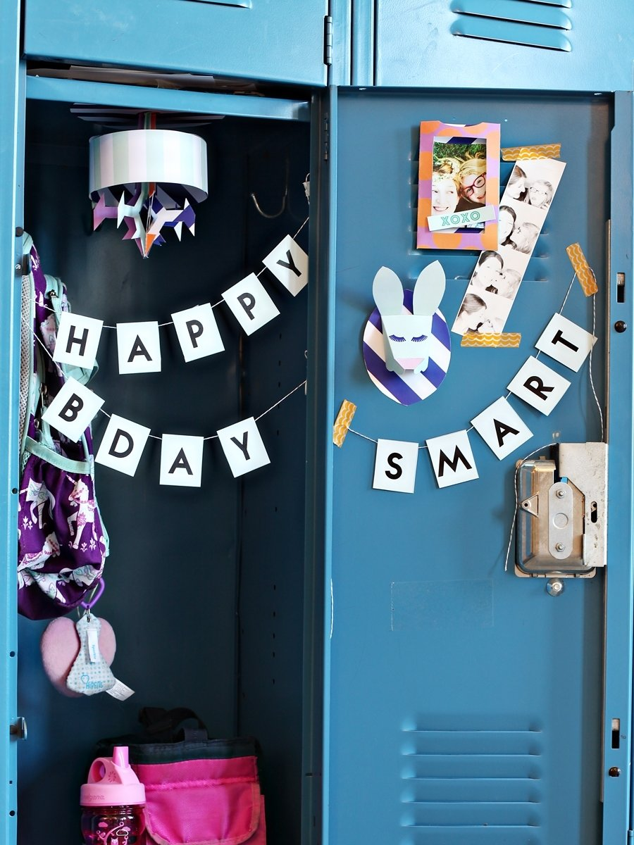 10 Awesome Back To School Locker Ideas back to school diy locker decoration craft projects decorate 2020