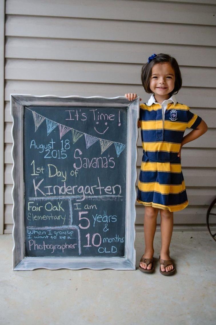 10 Nice 1St Day Of School Ideas back to school first day of kindergarten first day of school 2020