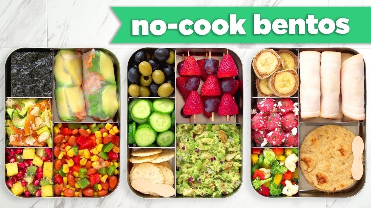 10 Elegant Healthy Bento Box Lunch Ideas back to school healthy bento box lunches no bake no cook recipes 2021