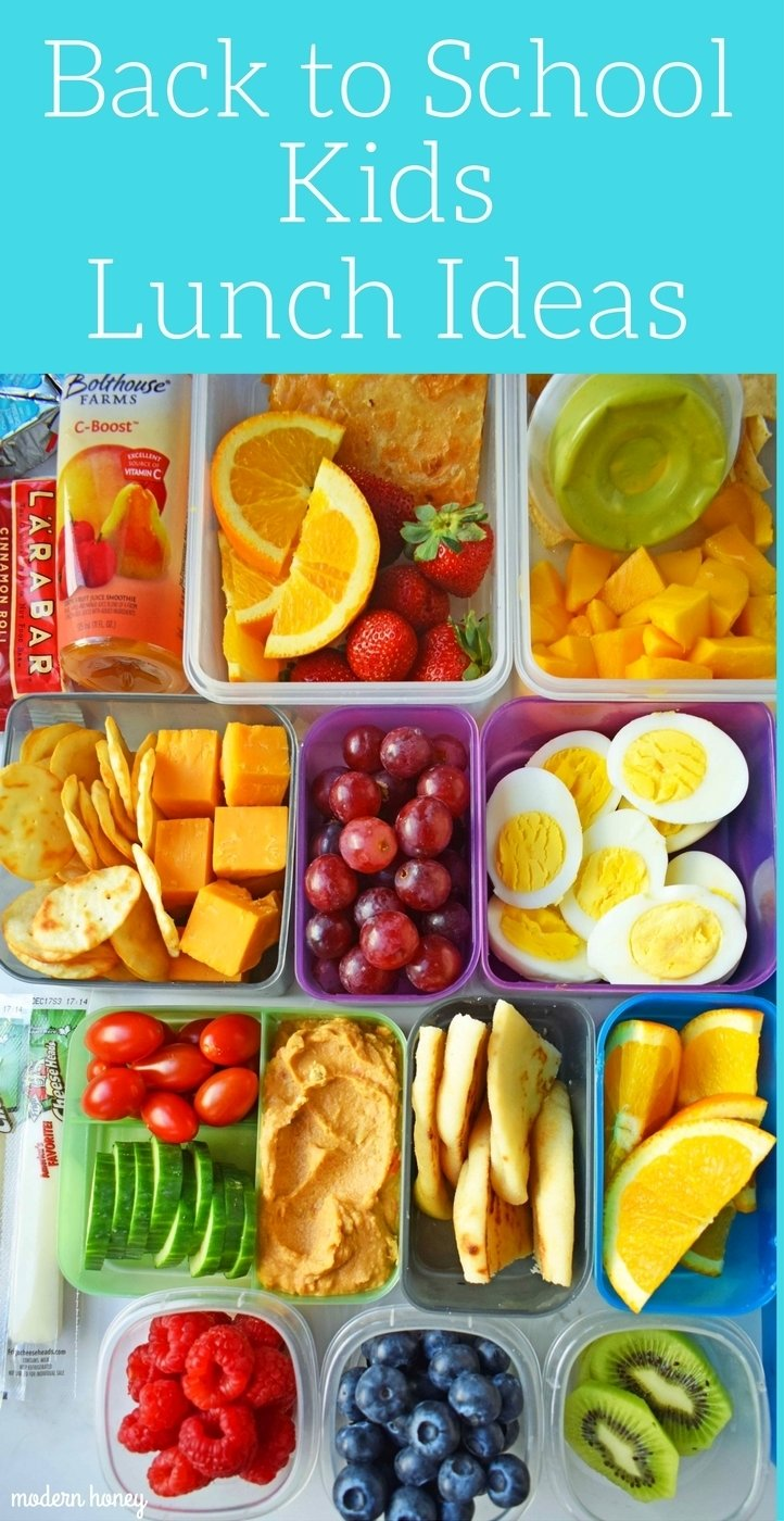 10 Cute Lunch Box Ideas For Kids back to school kids lunch ideas modern honey 25 2020