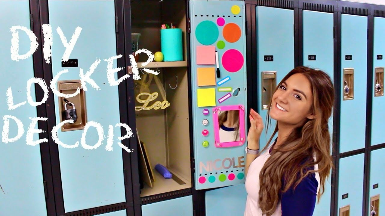 10 Awesome Back To School Locker Ideas back to school locker decorations diy locker decor youtube 2020