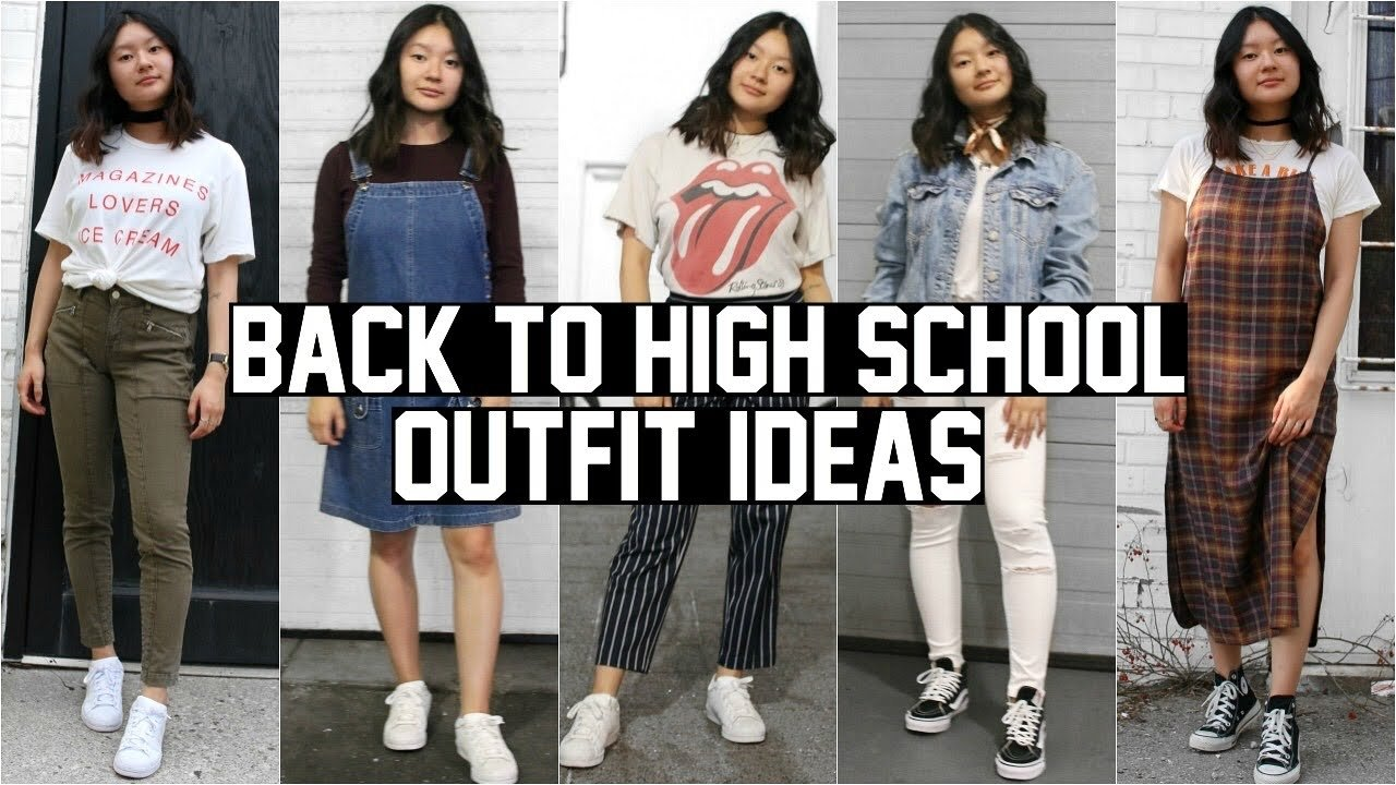 10 Attractive Outfit Ideas For High School back to school lookbook 2016 high school outfit ideas youtube 1 2020