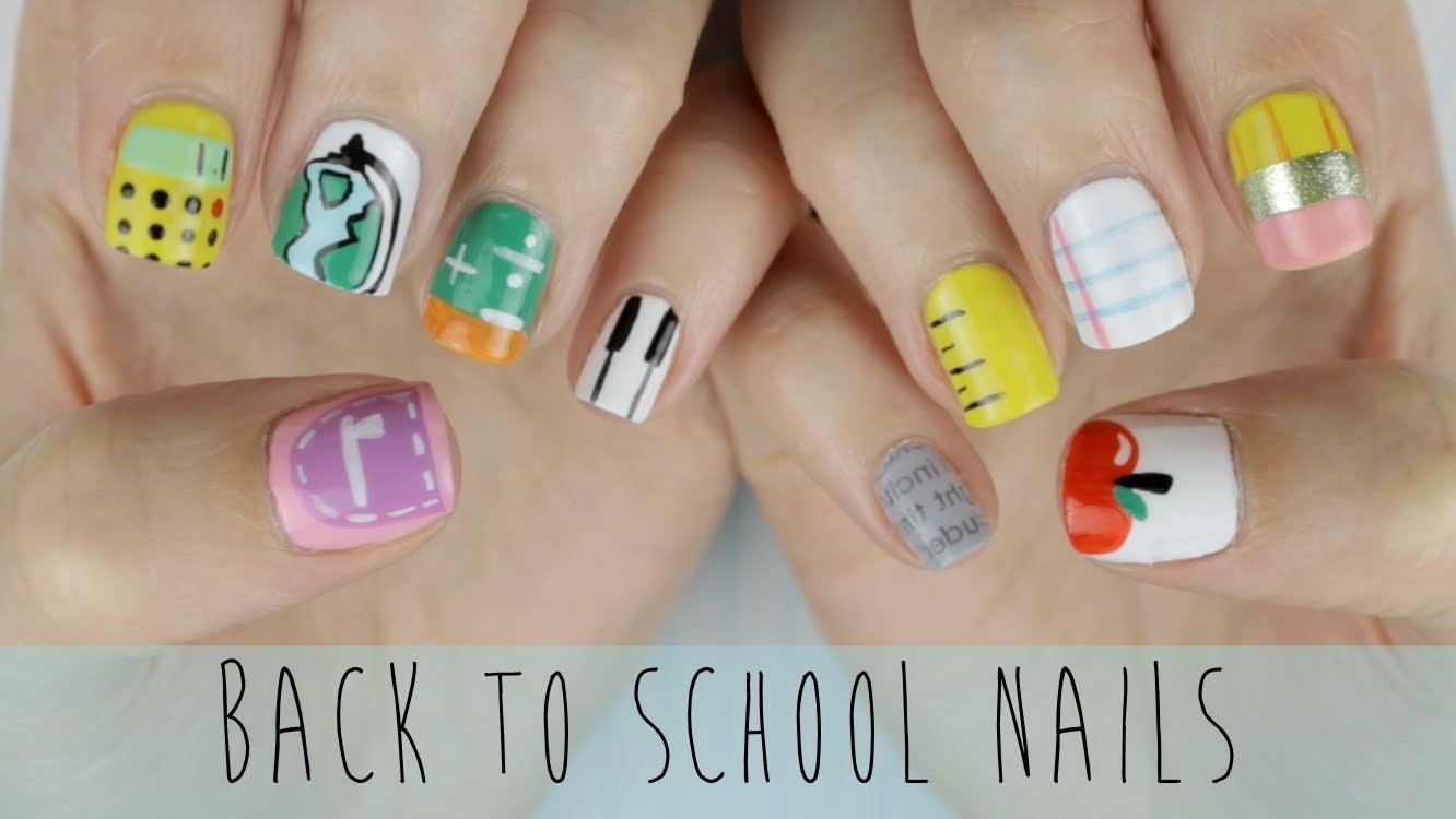 10 Fabulous Back To School Nail Ideas back to school nails the ultimate guide youtube 2020