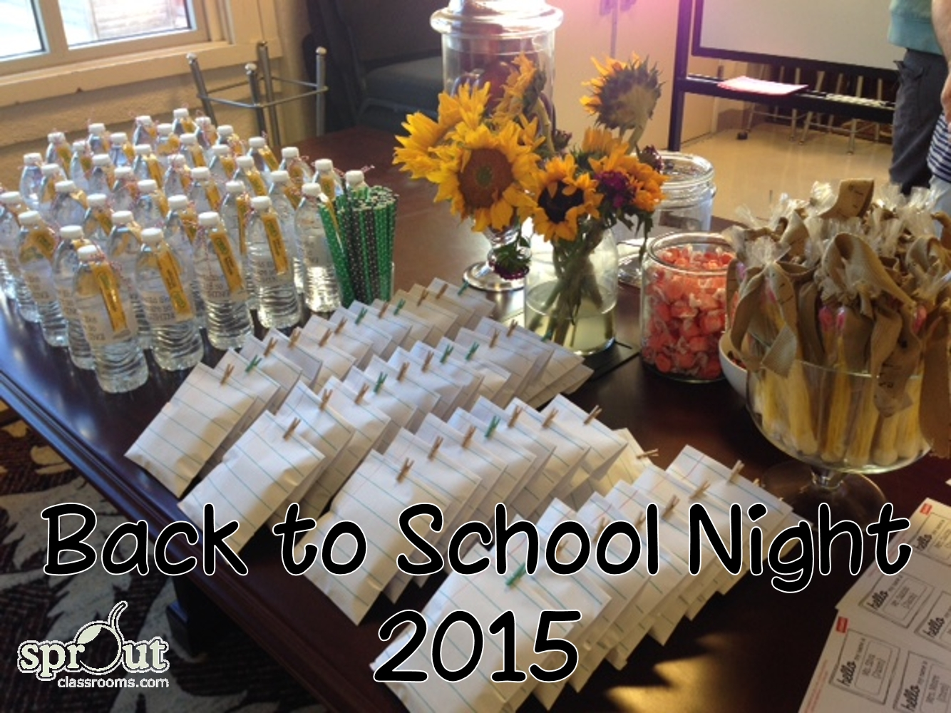 back to school night 2015! - sprout classrooms