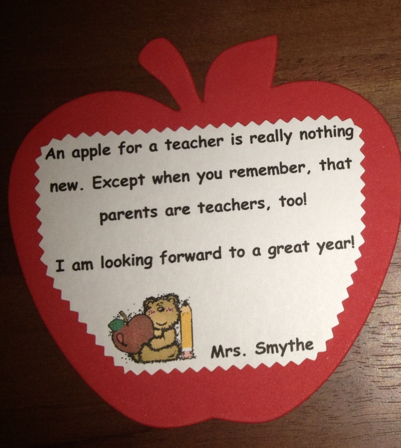 10 Gorgeous Back To School Ideas For Parents back to school night poem for parents teaching is a work of heart 2020