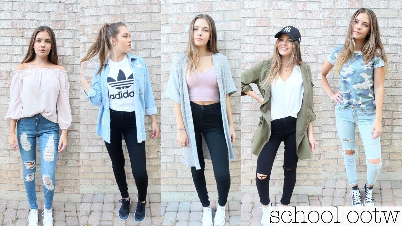 back to school outfit ideas 2016 - youtube