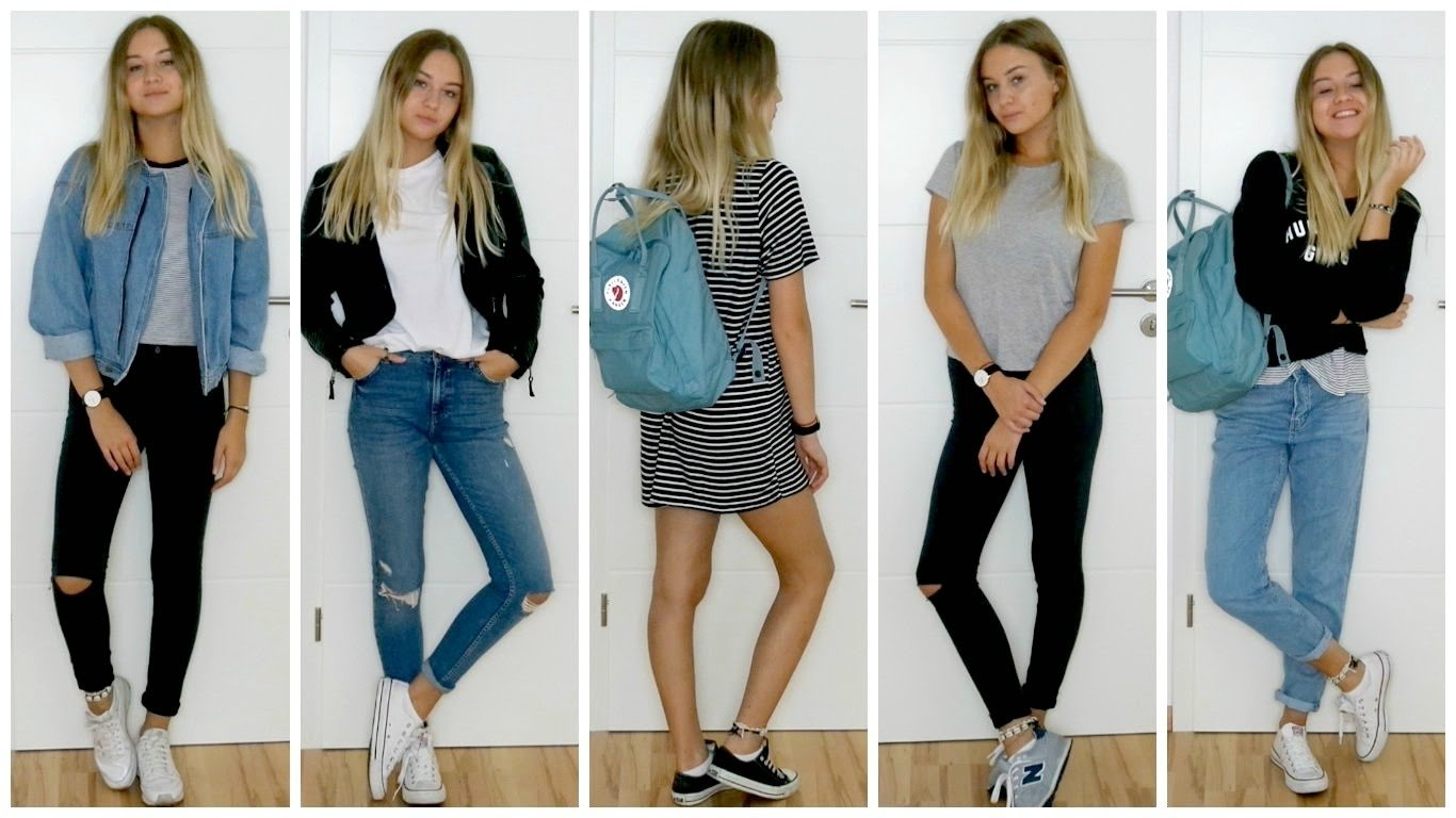 10 Trendy Back To School Outfit Ideas