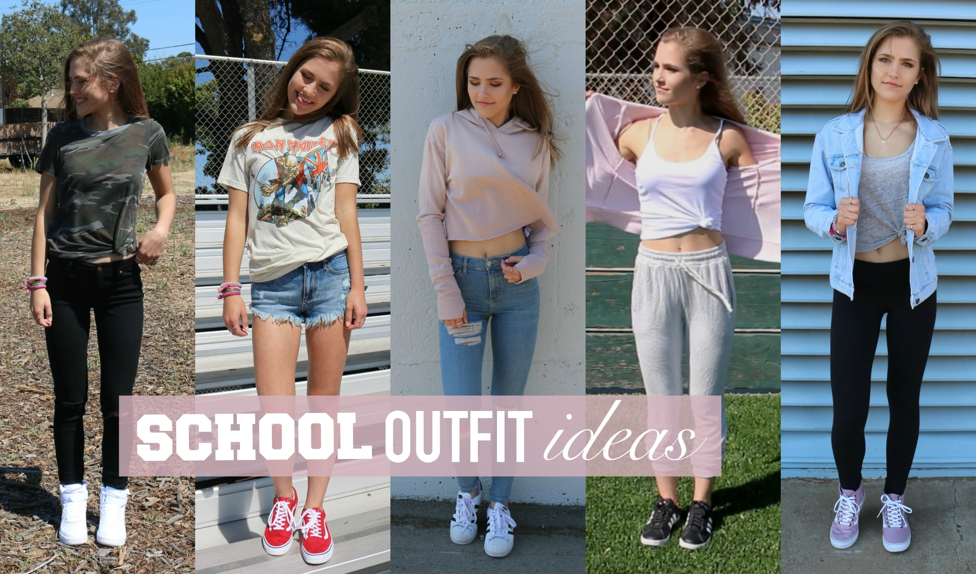 back to school outfit ideas! | mel joy - youtube