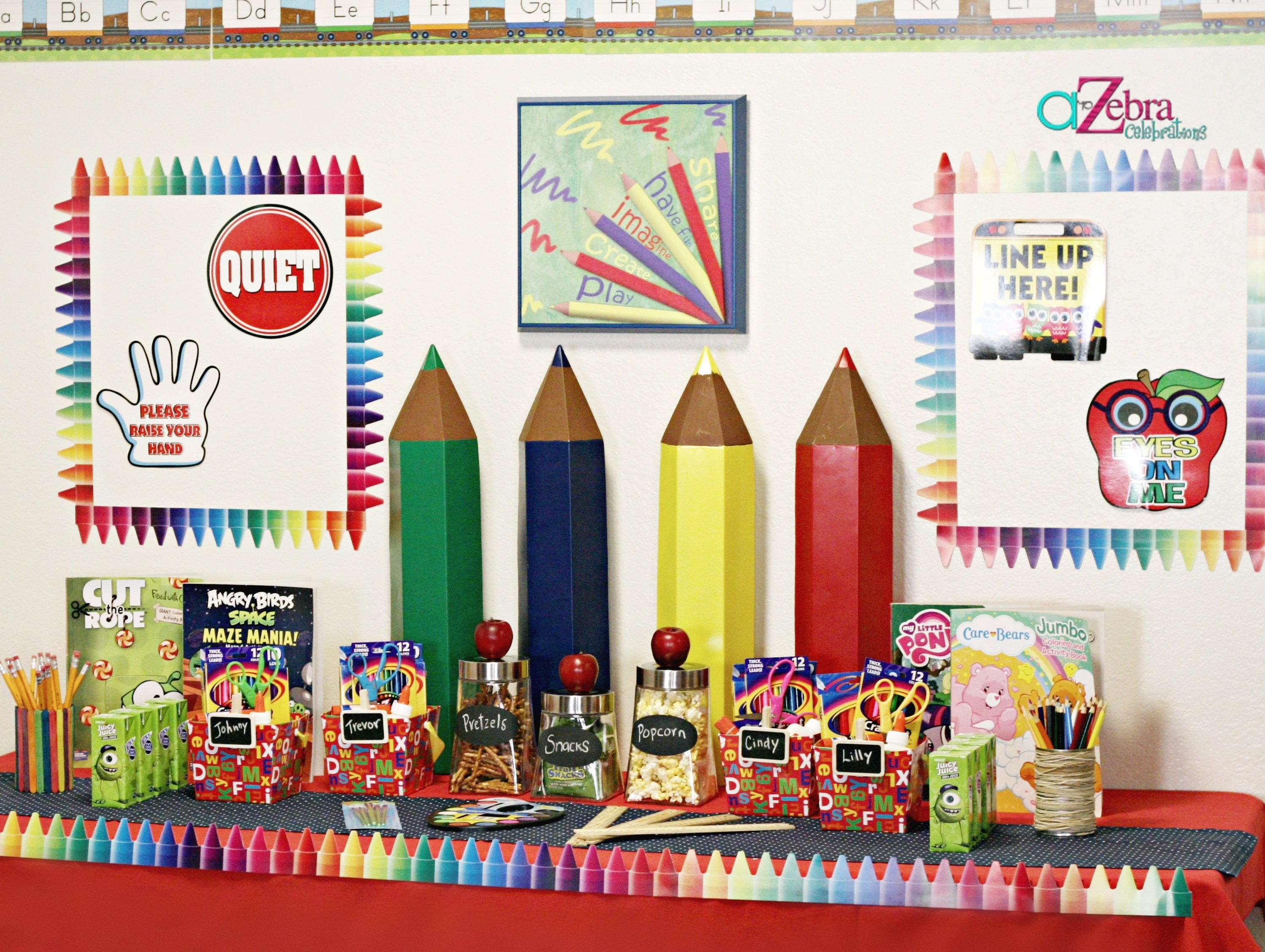 10 Beautiful Back To School Decoration Ideas back to school party on a budget giggles galore 2 2020
