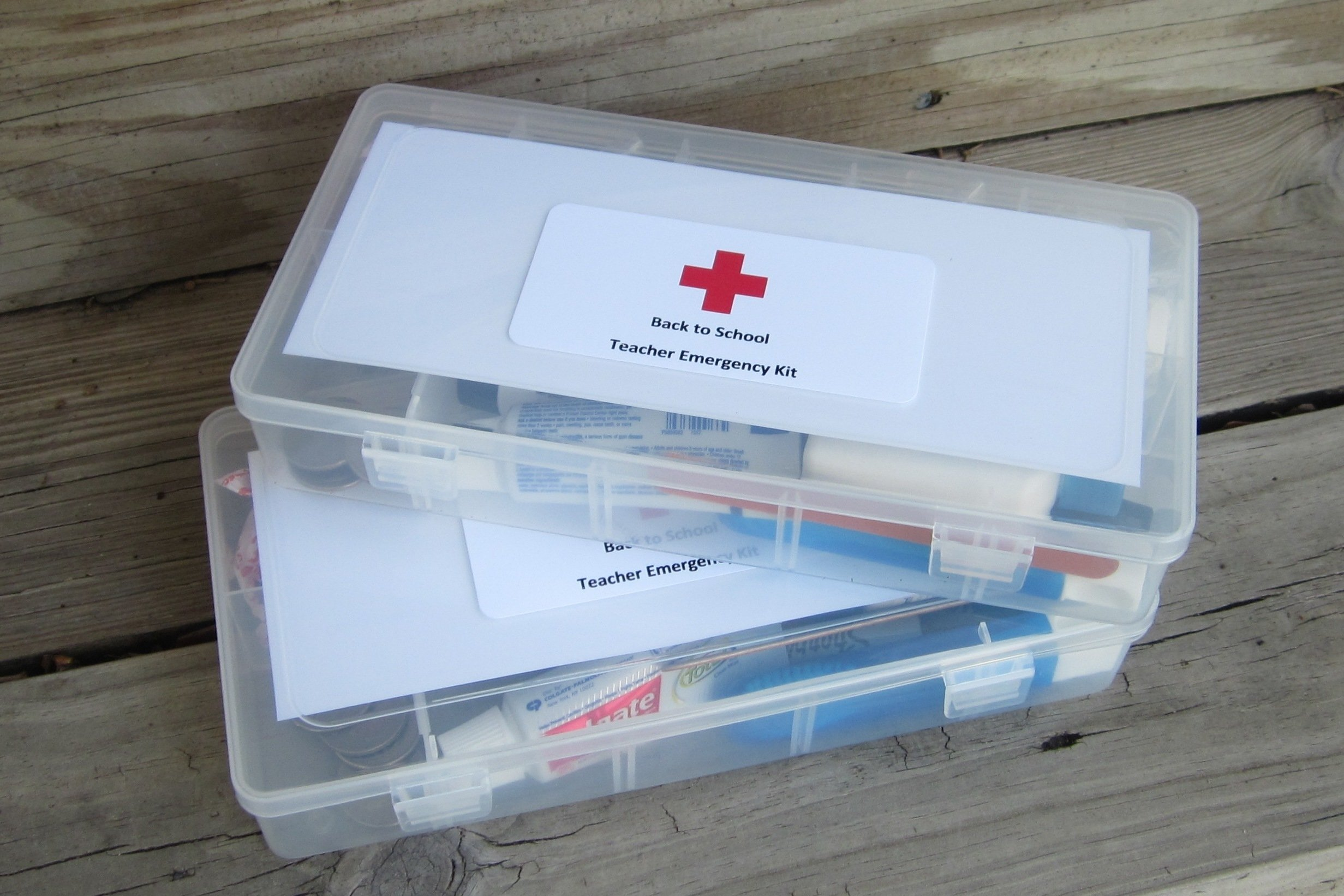 10 Beautiful Back To School Teacher Ideas back to school teacher emergency kits theroommom 2020