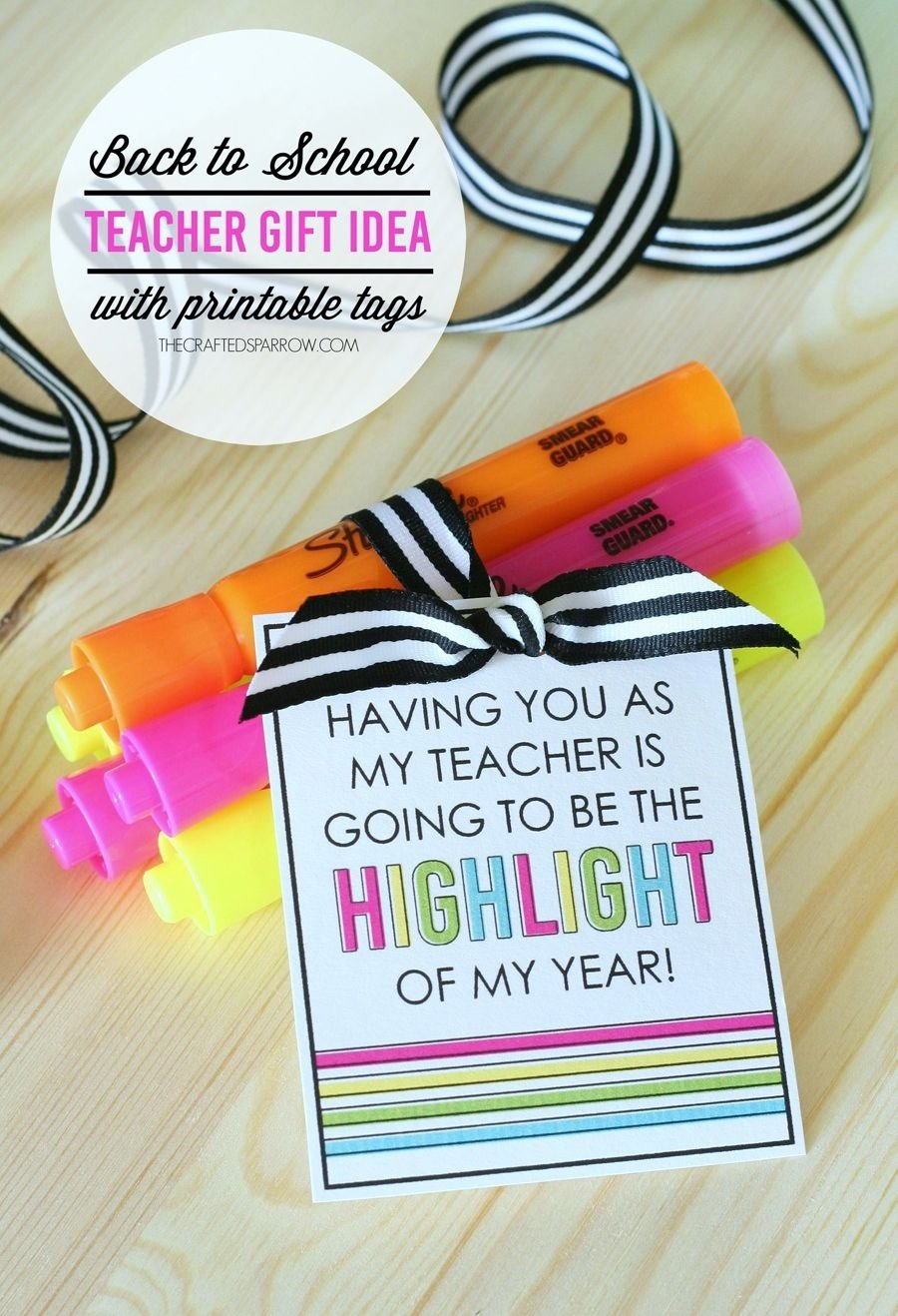 10 Stylish Back To School Gift Ideas For Teachers back to school teacher gift free printable free printable