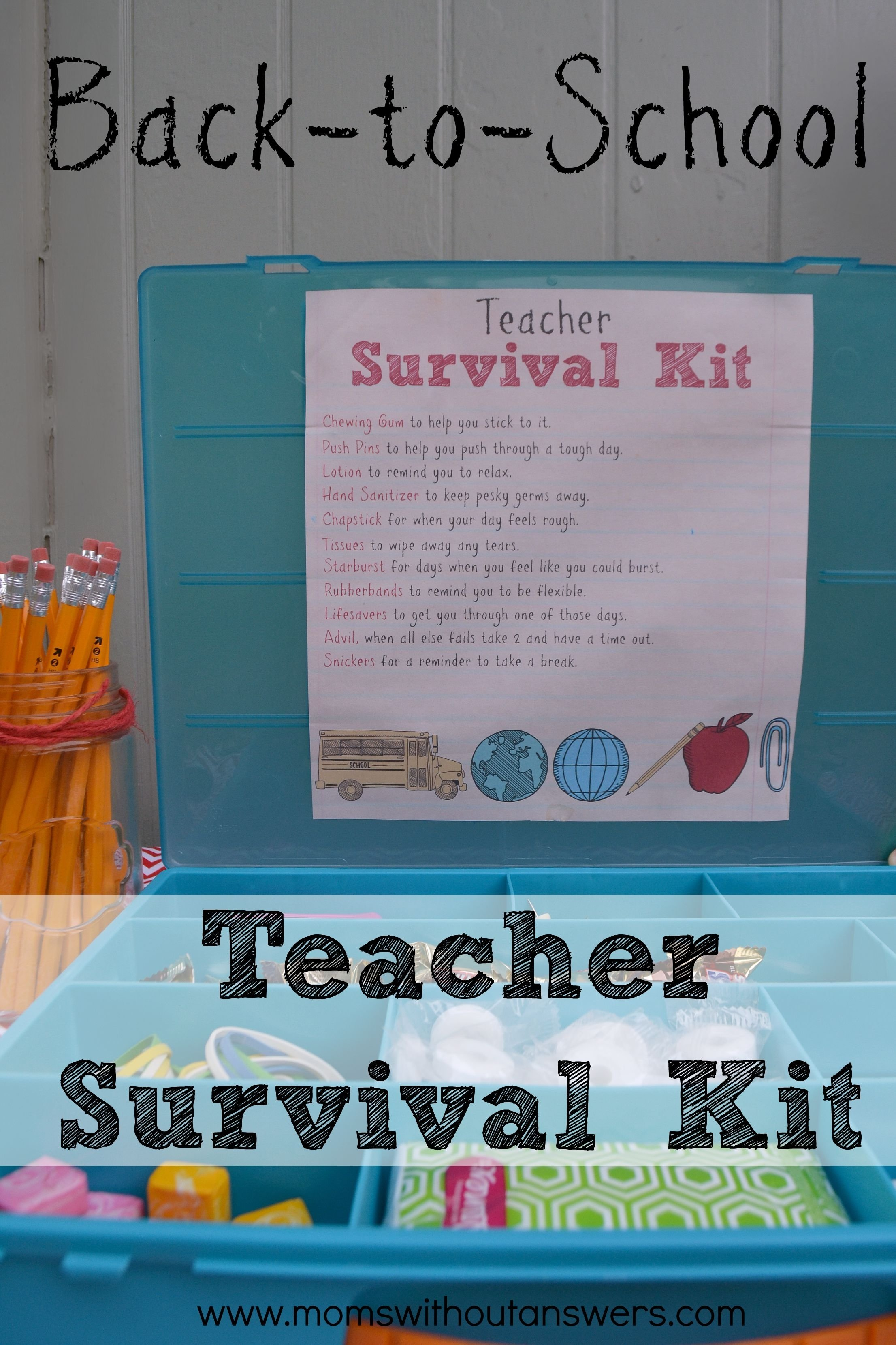 10 Beautiful Back To School Teacher Ideas back to school teacher supply kit moms without answers 2020