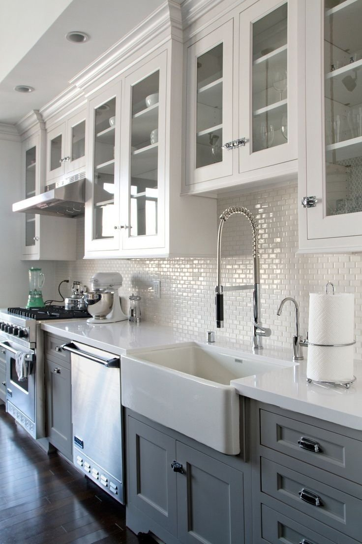 backsplash ideas for kitchen with white cabinets | kitchen inspiration