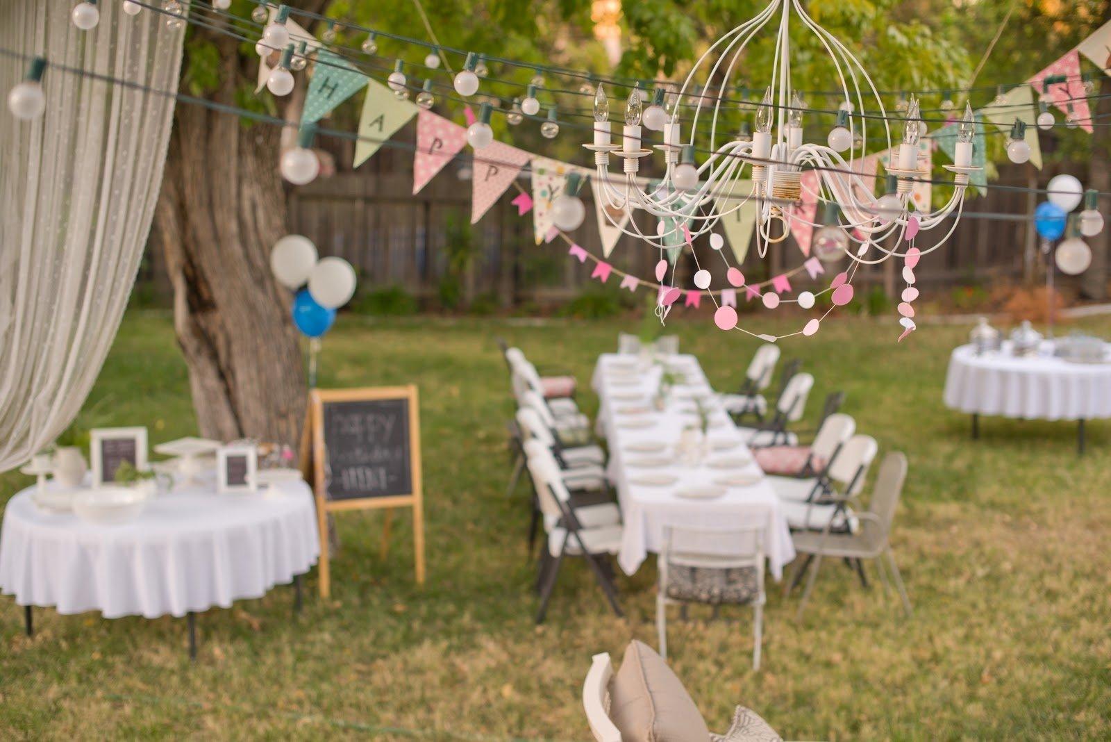 10 Stylish Backyard Birthday Party Ideas For Adults backyard birthday party ideas amazing with photo of backyard