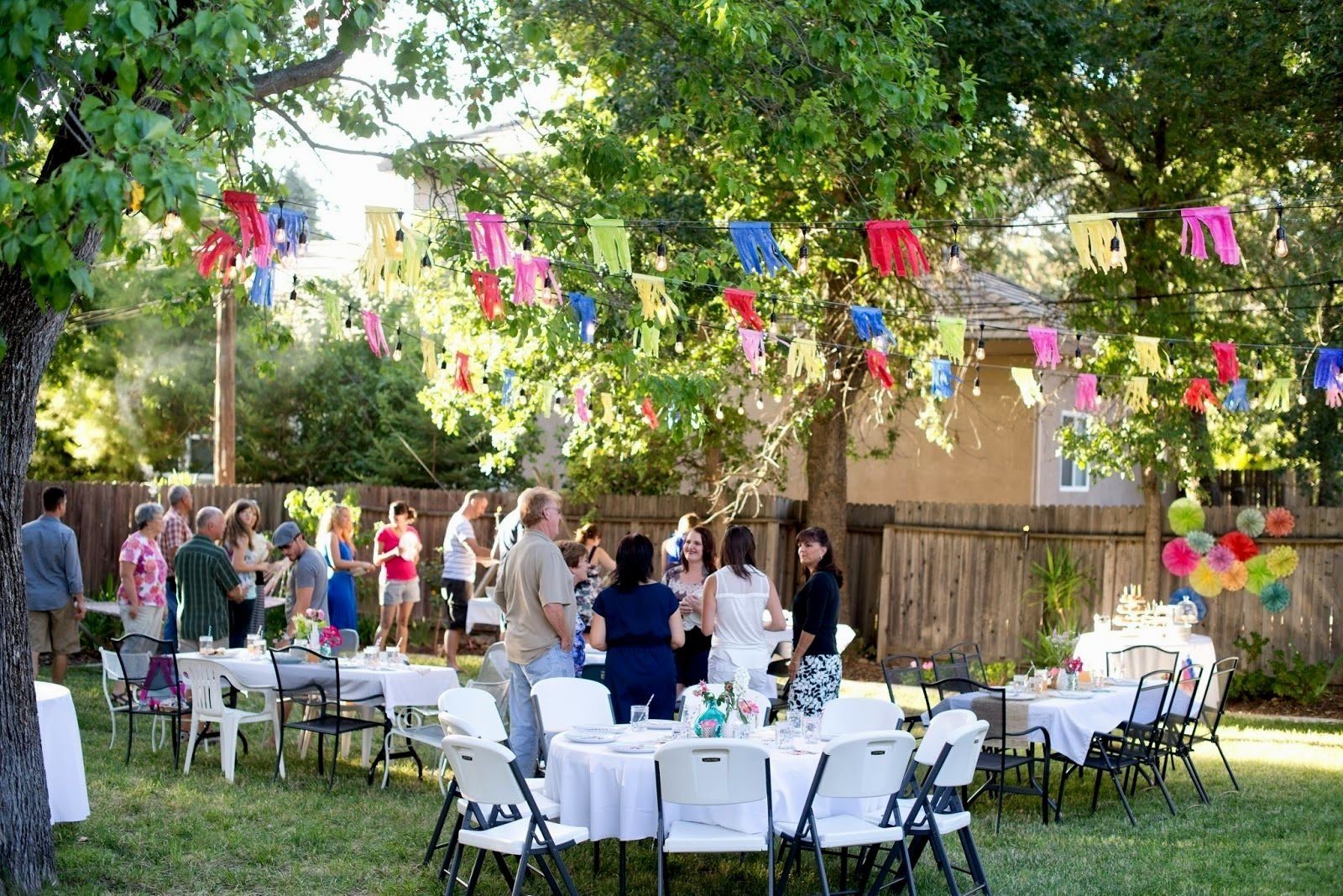 10 Stylish Backyard Birthday Party Ideas For Adults backyard birthday party ideas for adults archives decorating of
