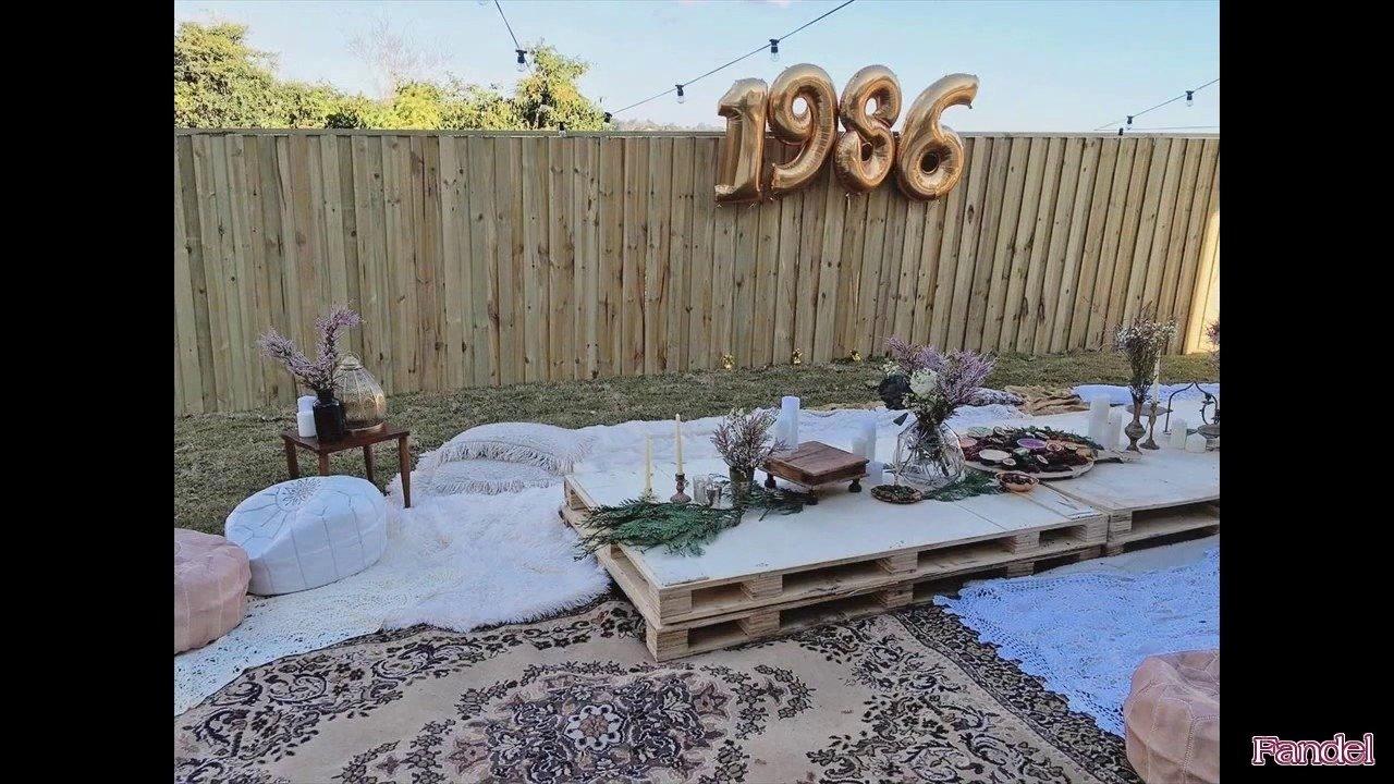 10 Stylish Backyard Birthday Party Ideas For Adults backyard birthday party ideas for adults youtube