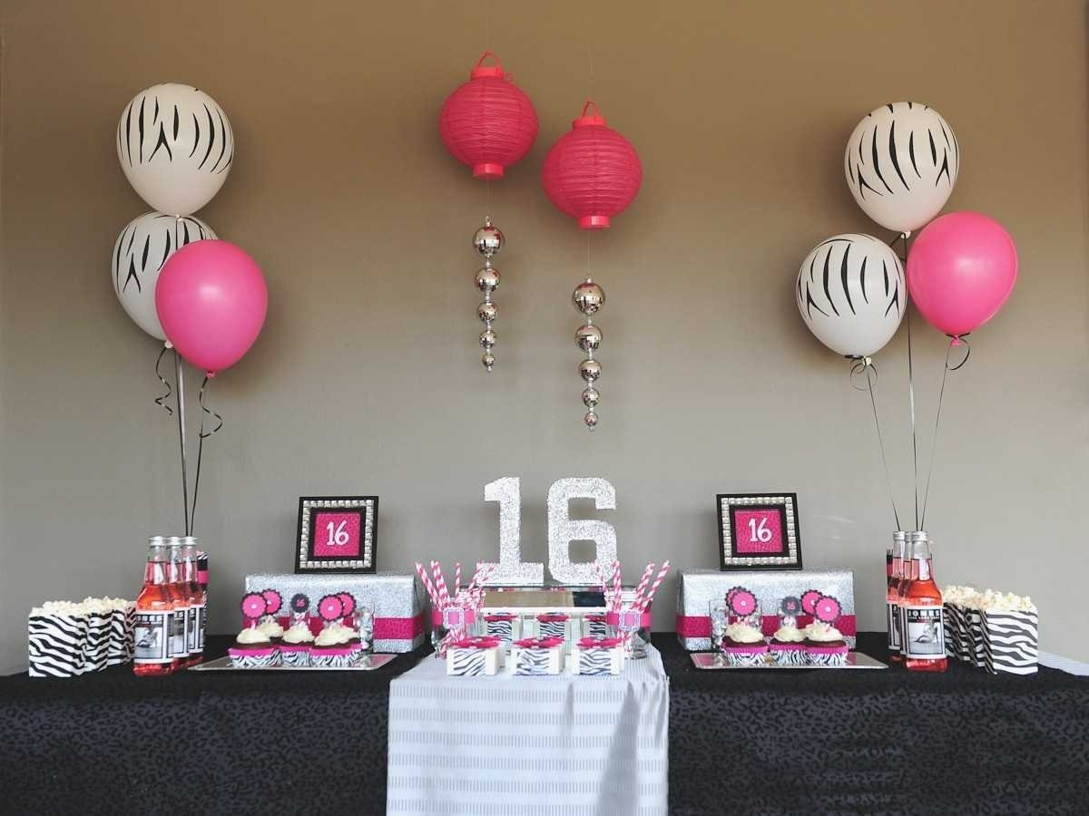 10 Awesome Ideas For A 16Th Birthday