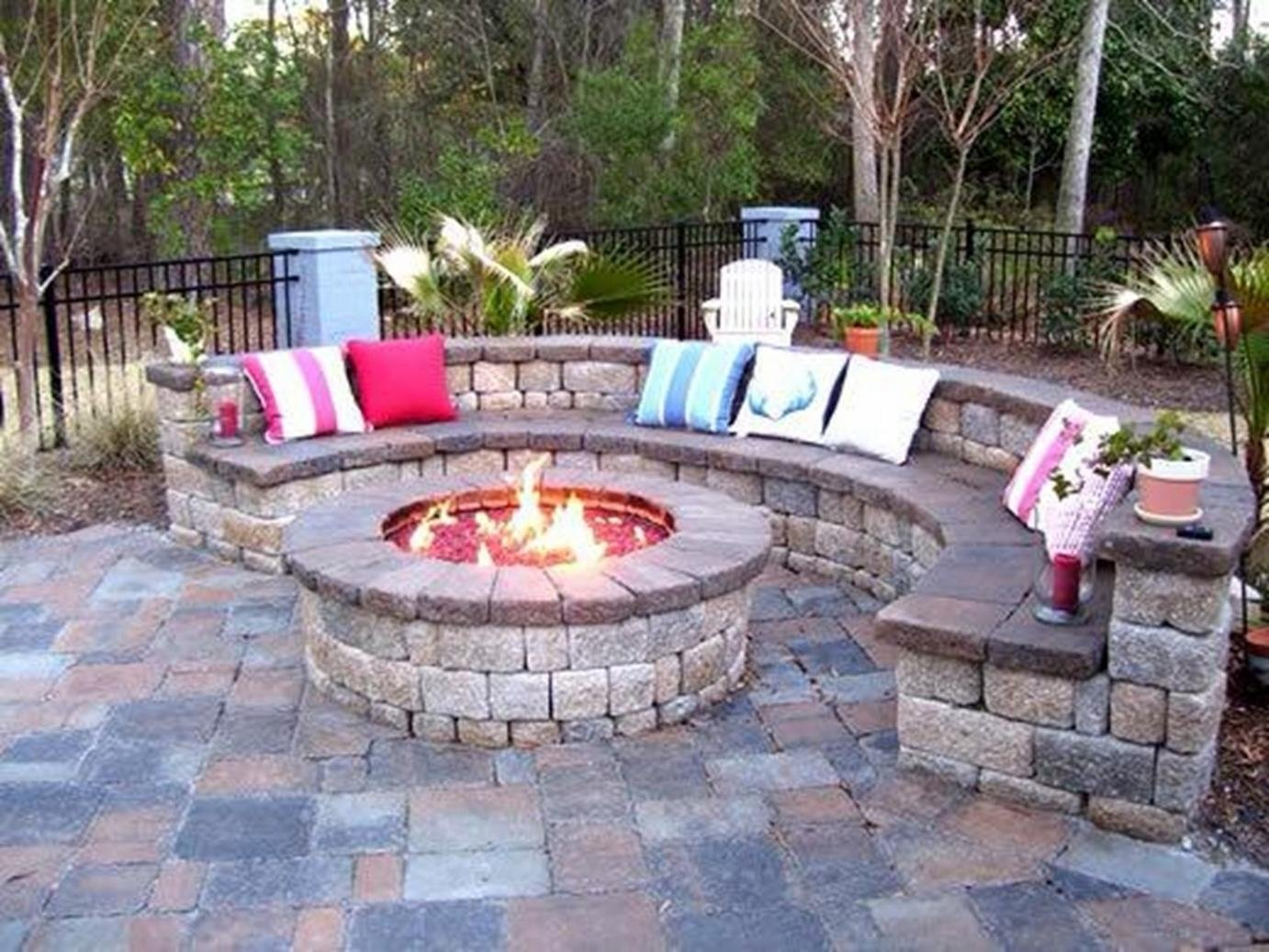 10 Perfect Patio Design Ideas With Fire Pits backyard design ideas with fire pit large and beautiful photos 2021
