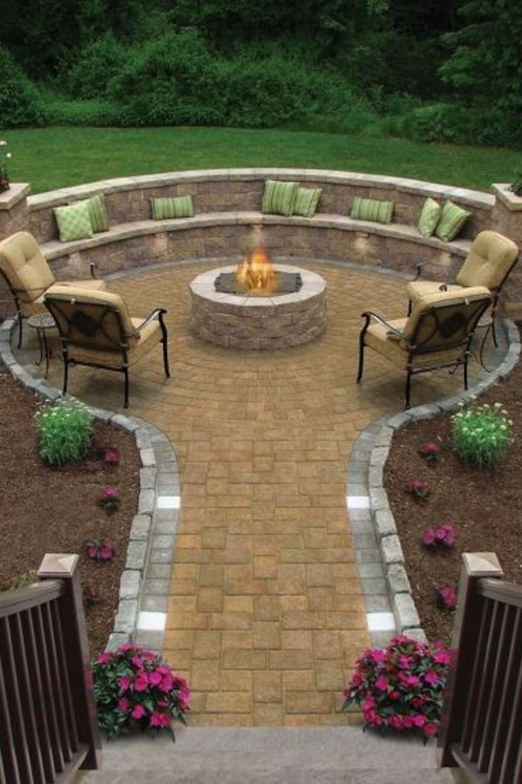 10 Great Outdoor Fire Pit Ideas Backyard backyard fire pit ideas and designs for your yard deck or patio 2020
