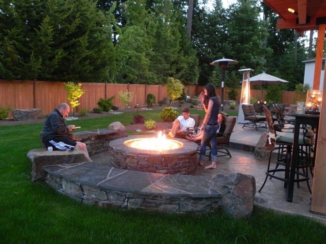 10 Most Popular Cheap Outdoor Fire Pit Ideas backyard fire pit ideas stunning garden exterior furniture outdoor 1 2021