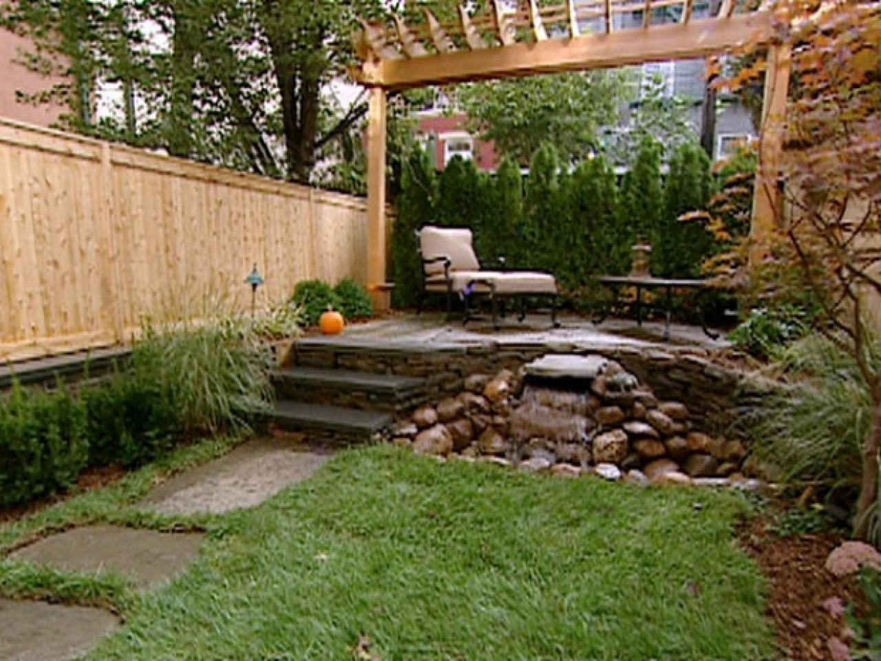 10 Stylish Landscape Ideas For Small Yards backyard front yard landscape plans small ideas low maintenance