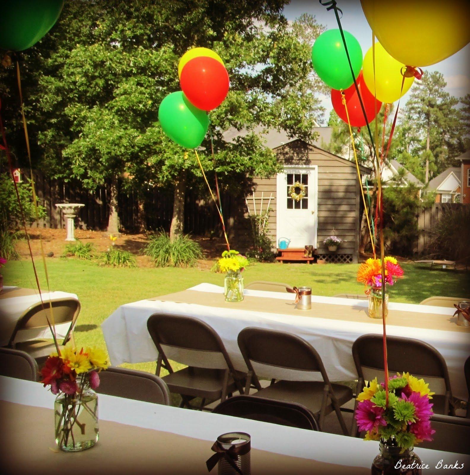 10 Lovable High School Graduation Open House Ideas backyard graduation party beatrice banks party time pinterest 1 2021