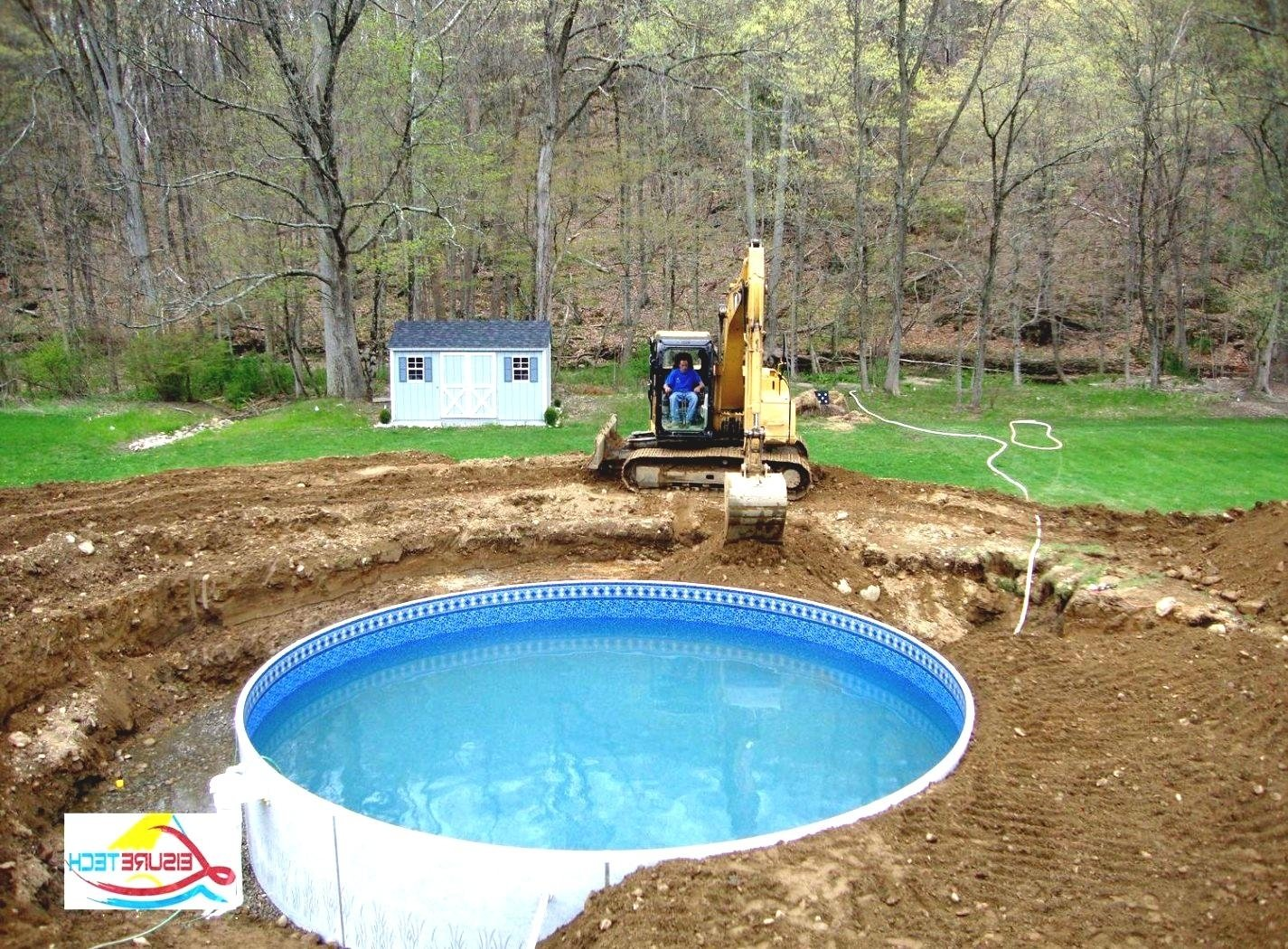 10 Most Popular Above Ground Pool Ideas Backyard backyard ideas with above ground pool round designs 1