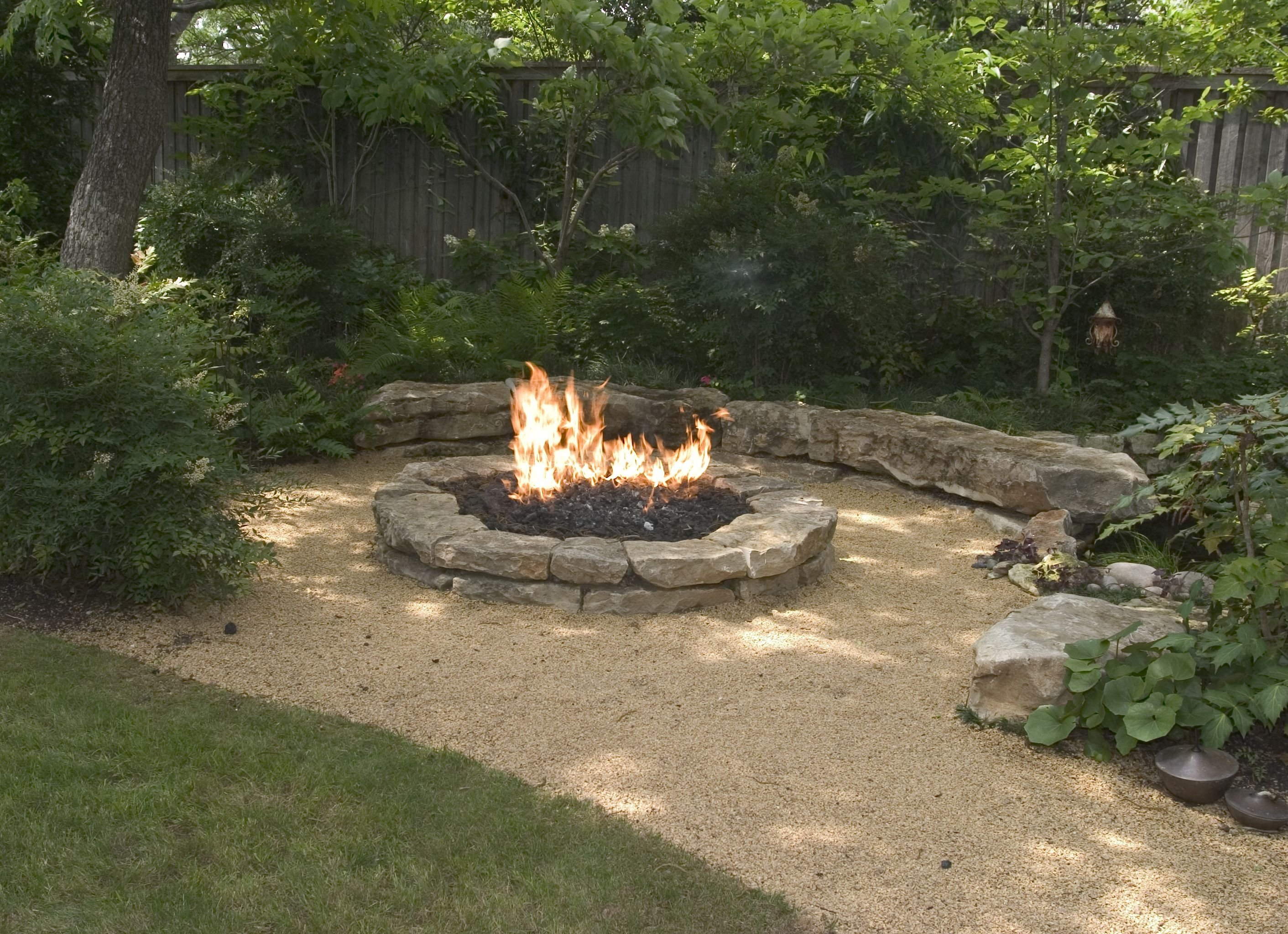 backyard landscaping ideas-attractive fire pit designs | fire pit