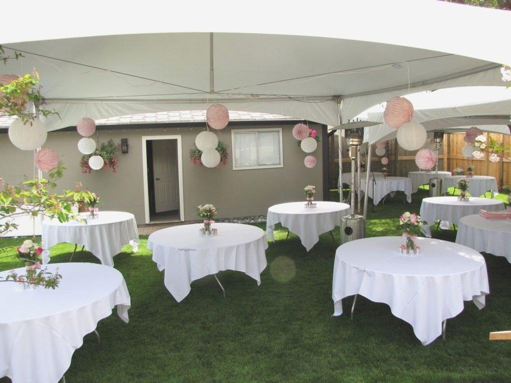 10 Unique Small Backyard Wedding Reception Ideas backyard shocking small backyard reception ideas elegant bud 2020