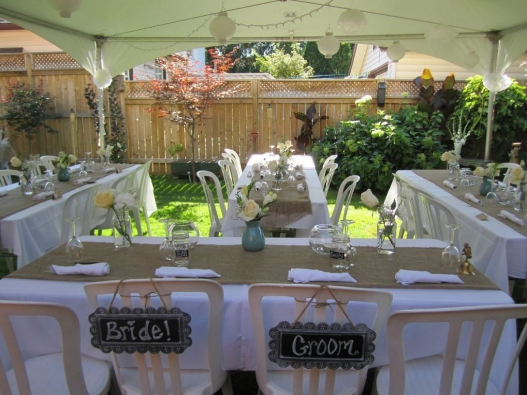 10 Lovable Reception Ideas For Small Wedding backyard small backyard wedding best photos backyard wedding 2020