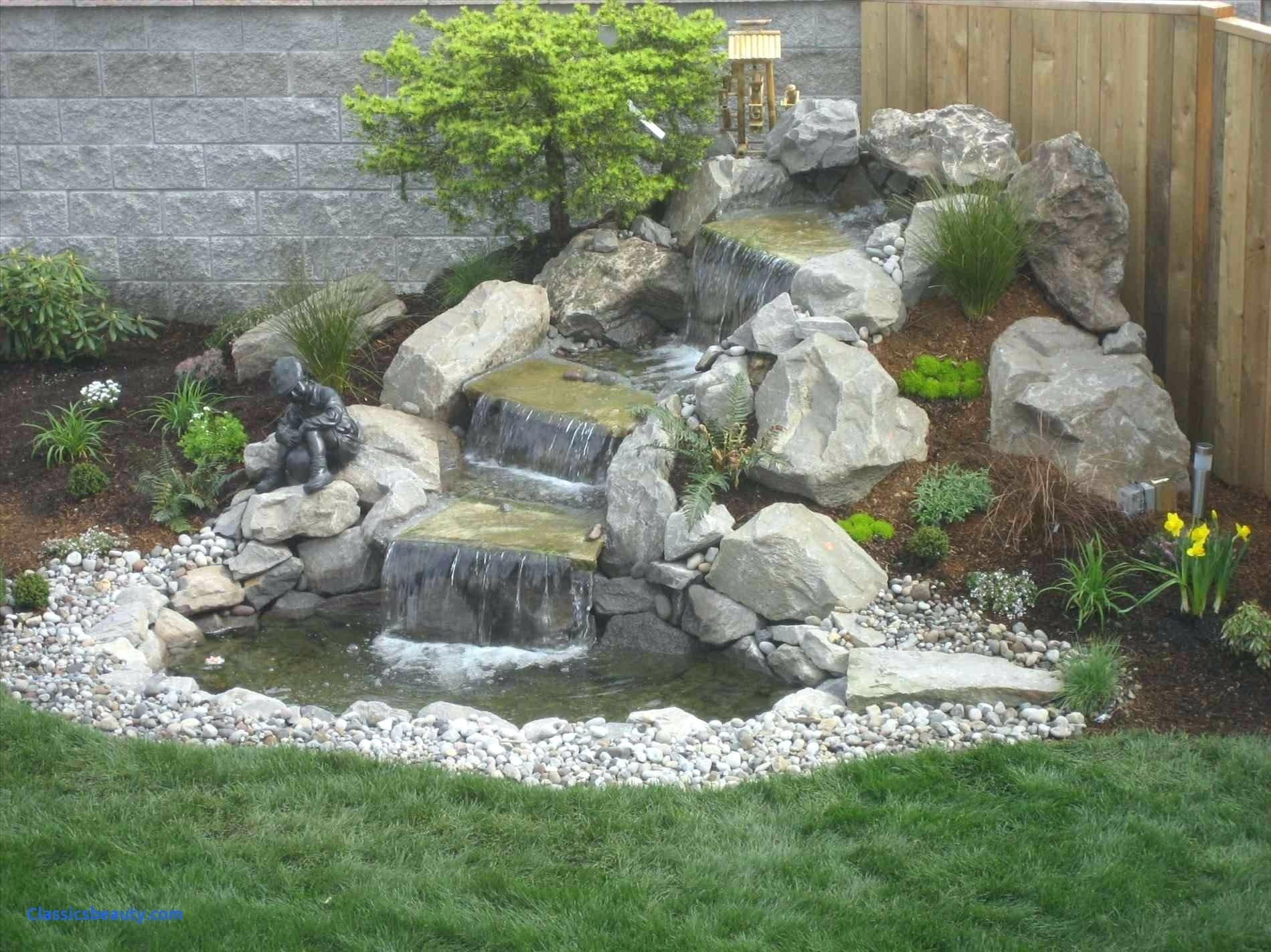 10 Perfect Water Feature Ideas For Small Gardens backyard water features landscape waterfalls outdoor ideas little 2020