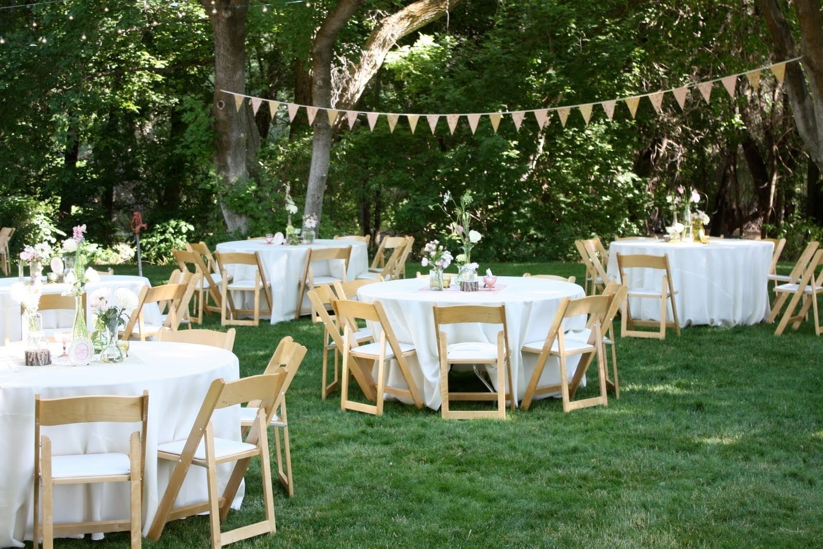 10 Lovely Reception Ideas For Small Weddings backyard wedding reception decoration ideas wedding event 1 2021